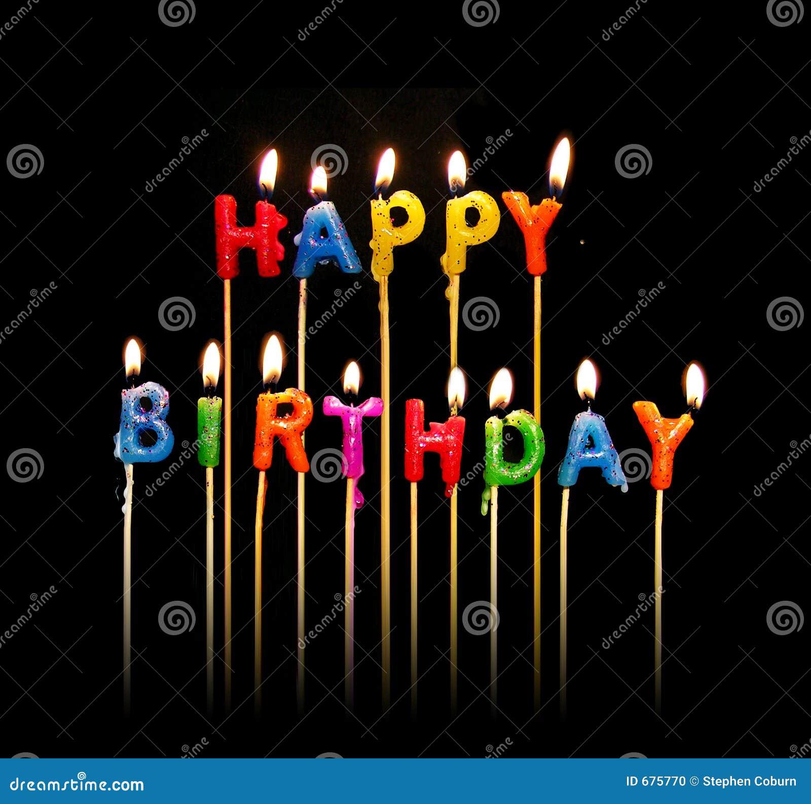 świeczki urodzinowe szczęśliwe
