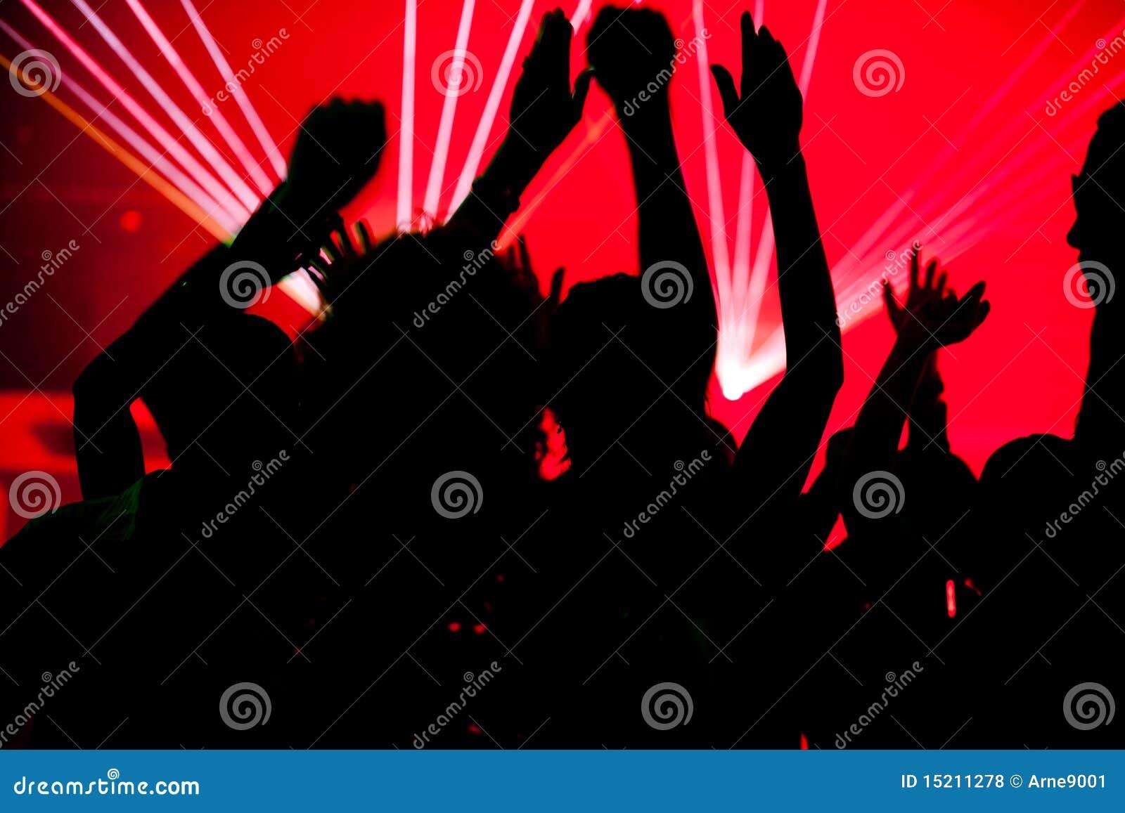 świetlicowi dancingowi laserowi ludzie
