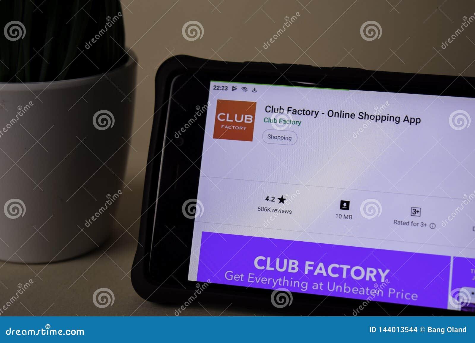 Świetlicowy fabryki dev zastosowanie na Smartphone ekranie Online zakupy jest freeware sieci?
