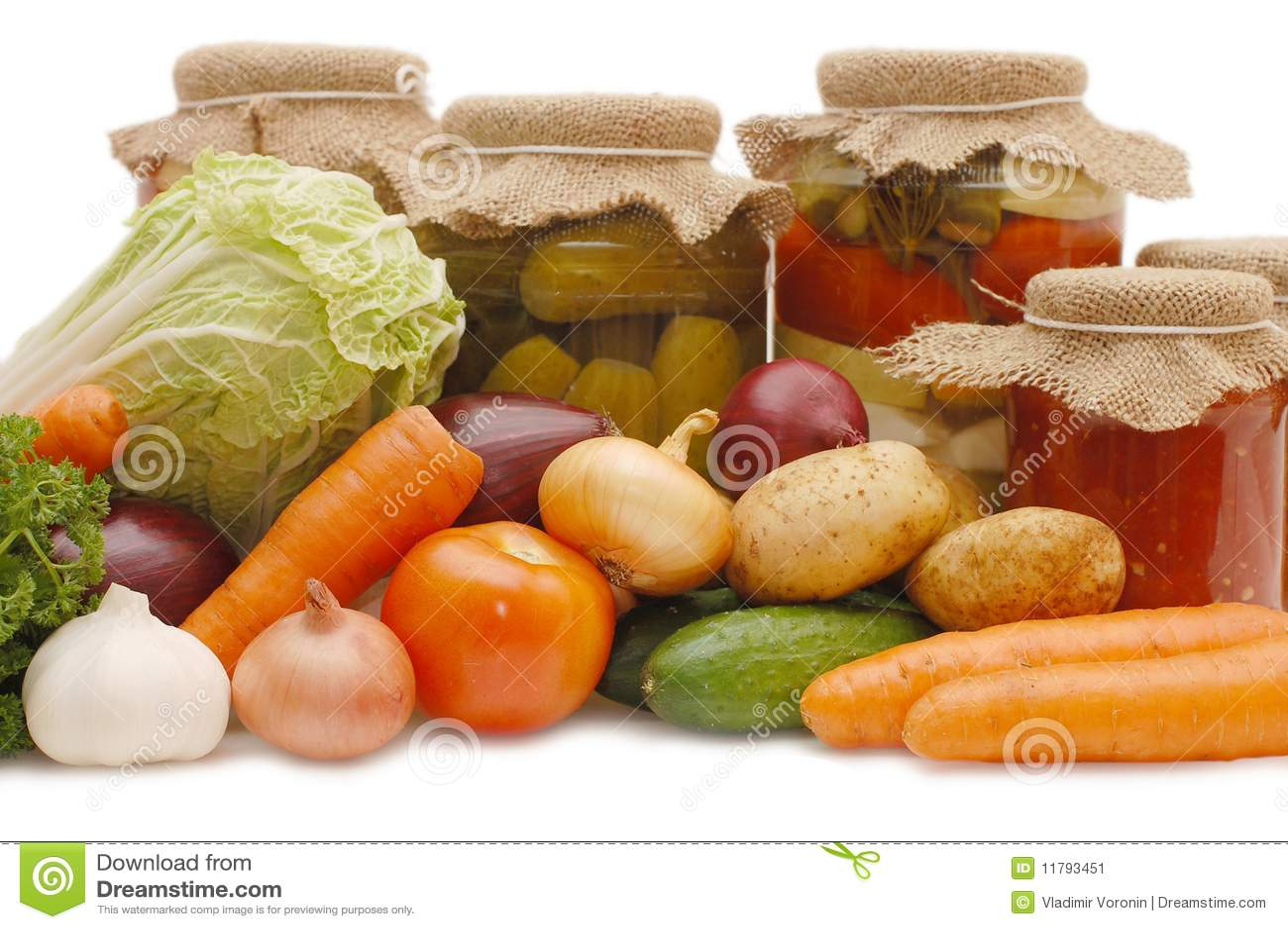świezi cynowani warzywa