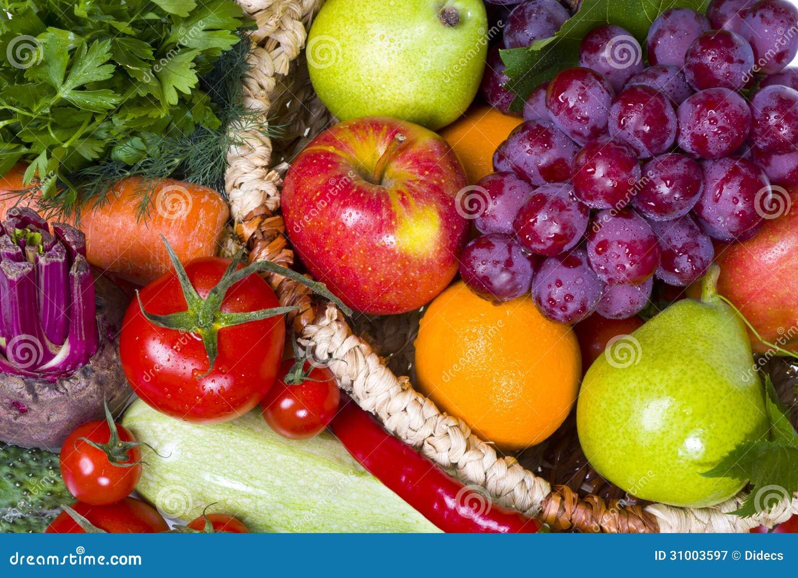 Świezi owoc i warzywo