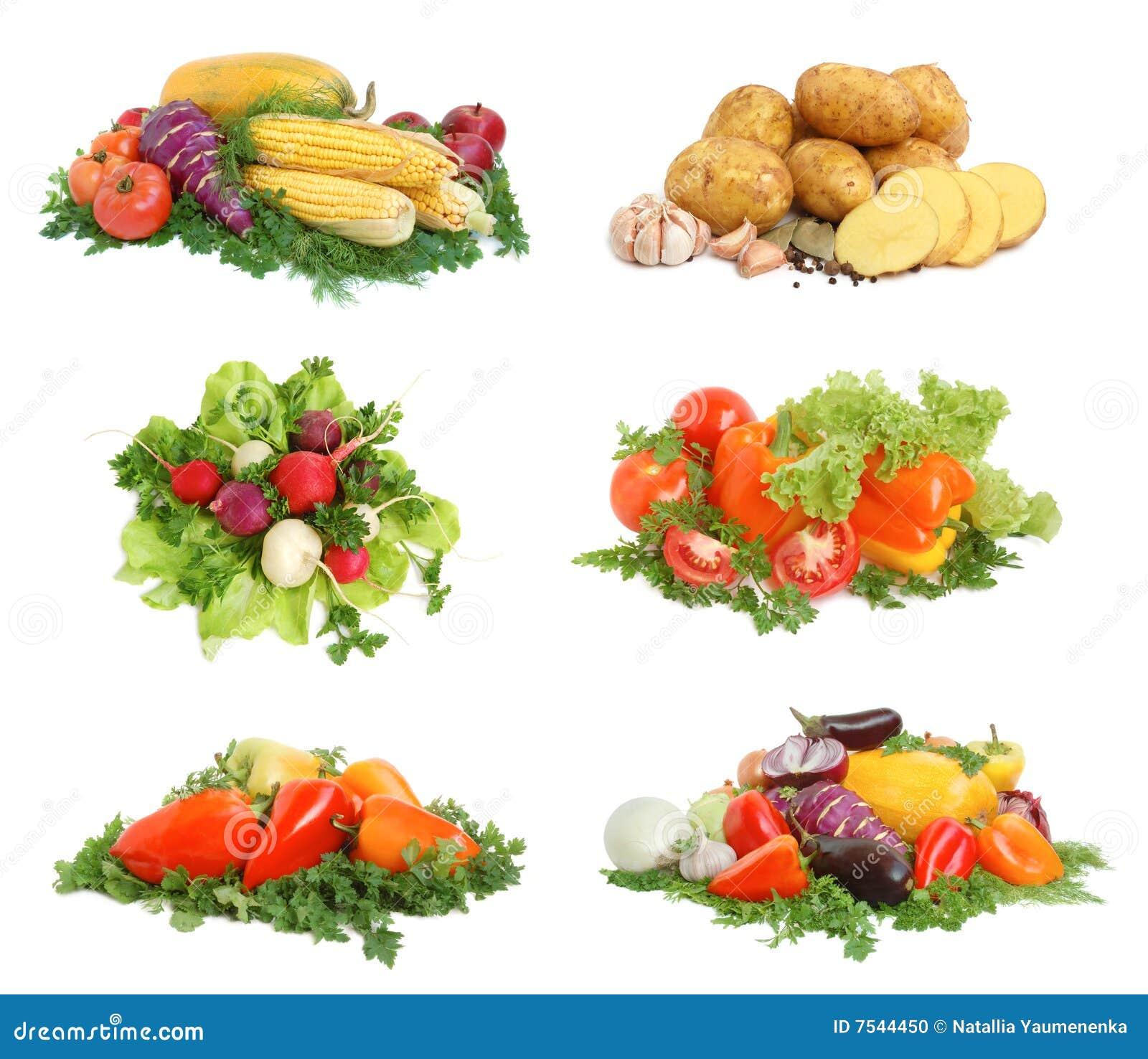 świezi smakowici warzywa