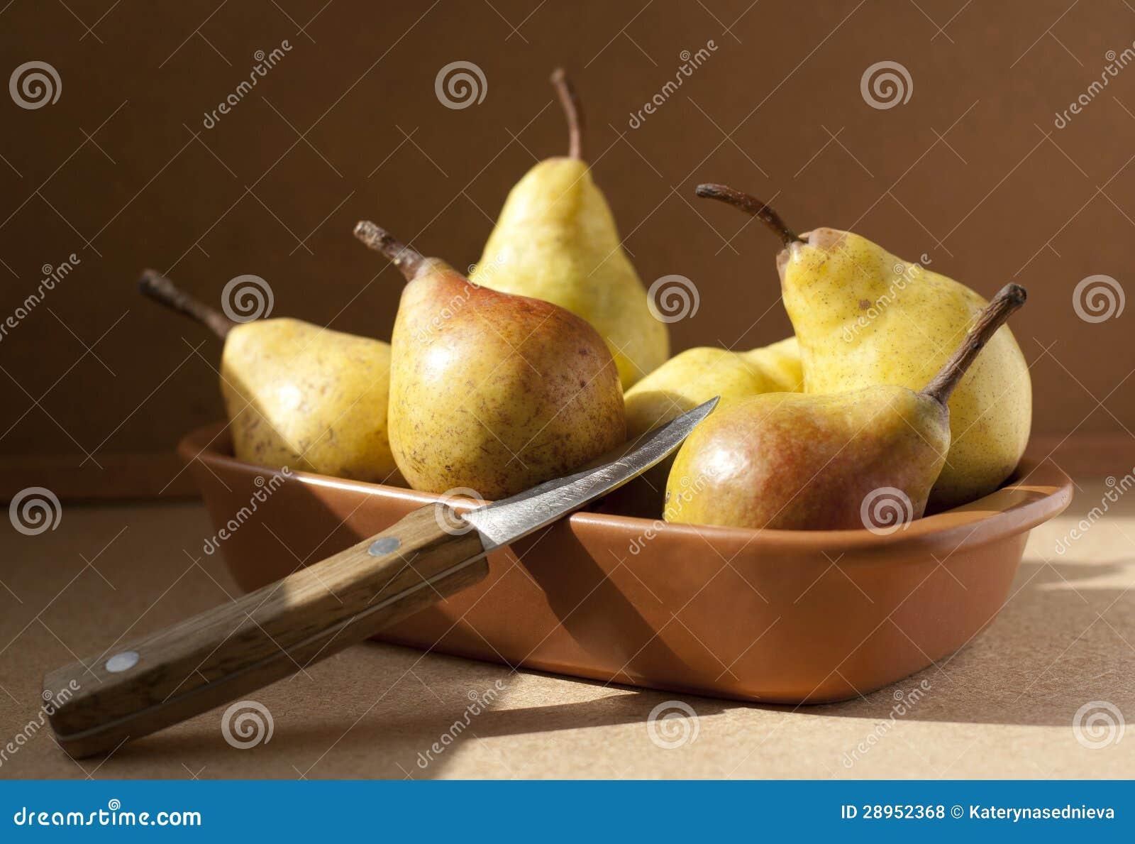 Żółte bonkrety w pucharze