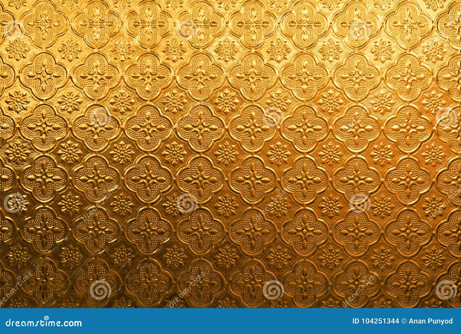 Żółtego złota kwiatu rocznika szkło dla abstrakcjonistycznej tekstury i tła