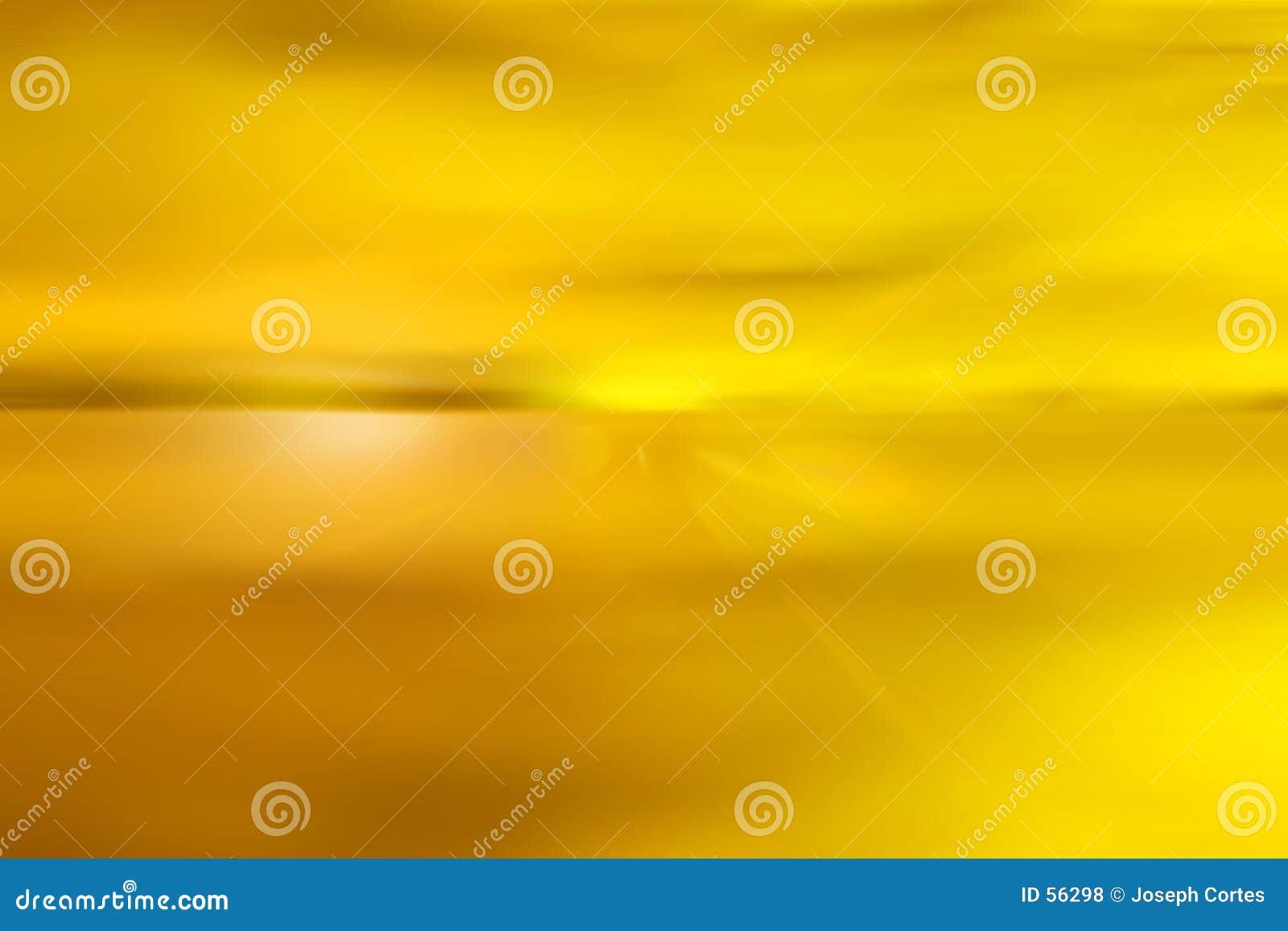 Żółty abstrakcyjne niebo