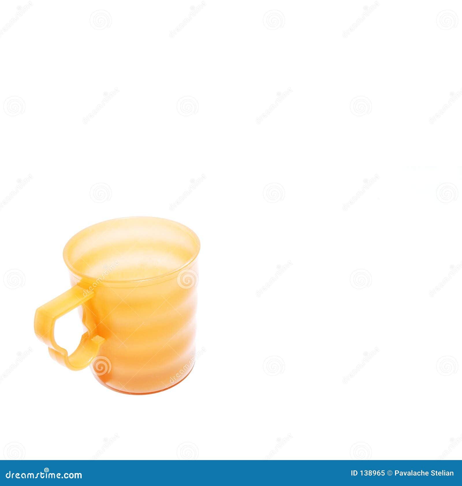 Żółty kubek
