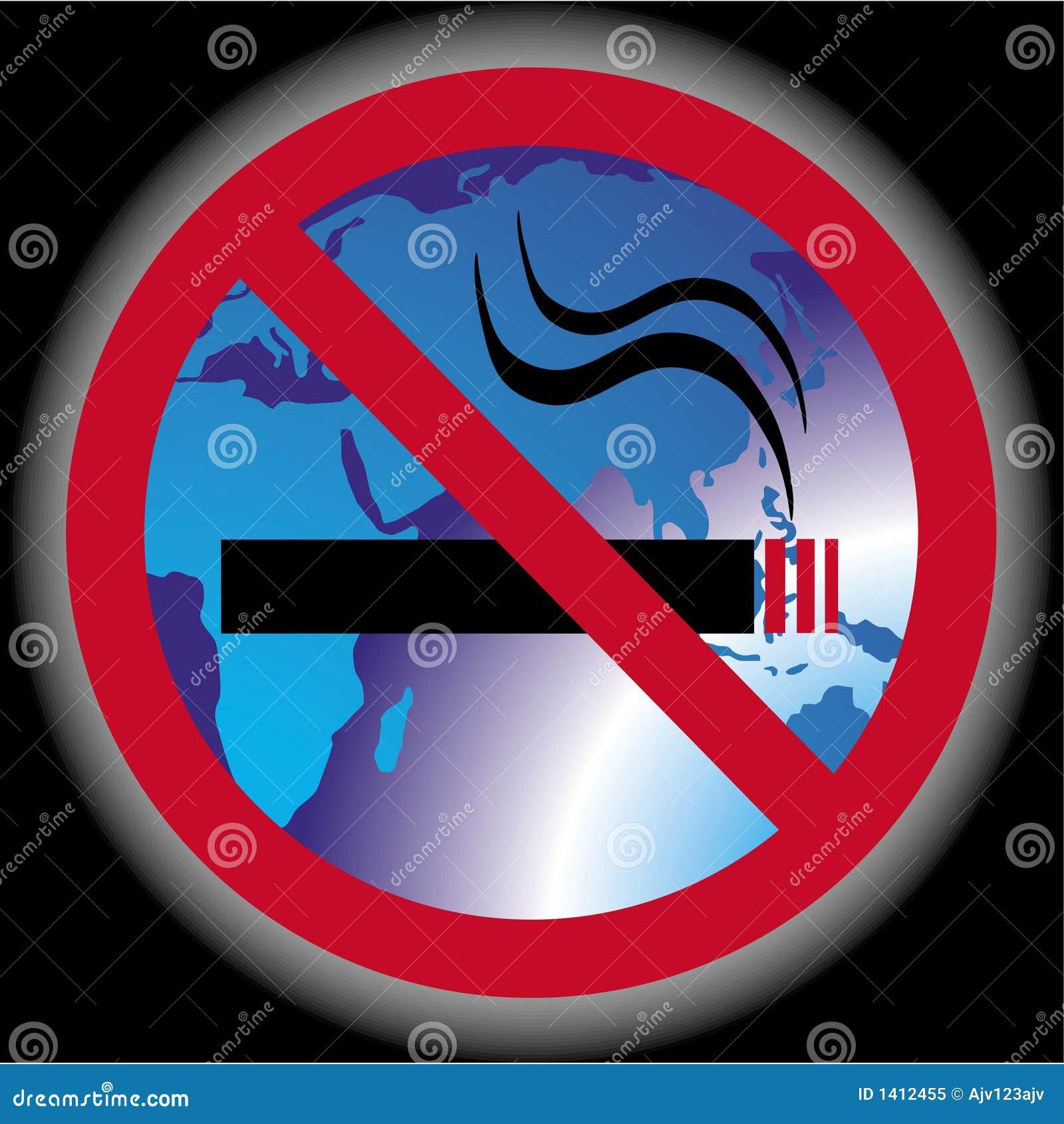 żadnego palenia świat