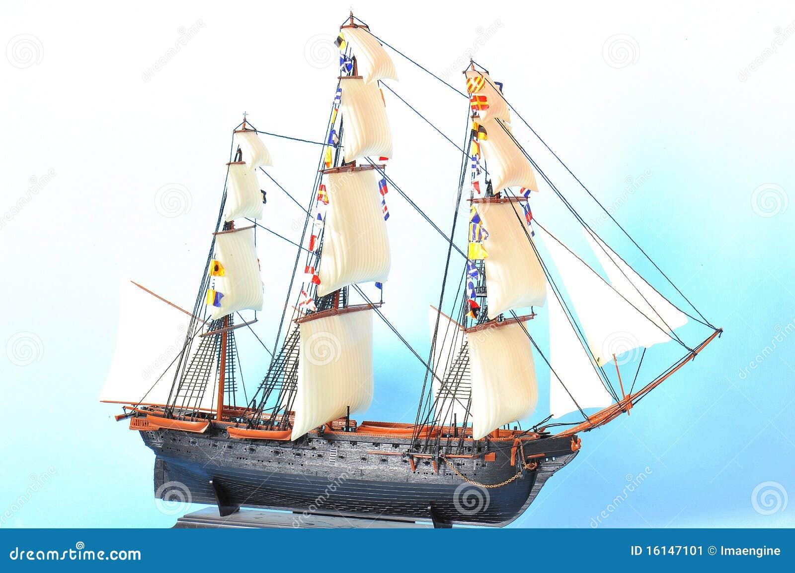 żagla wzorcowy statek