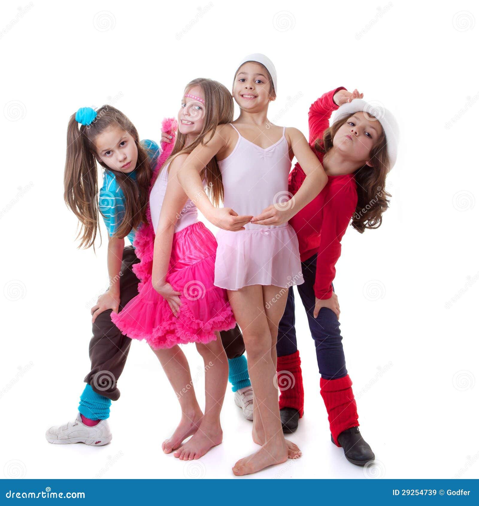 Żartuje taniec szkoły