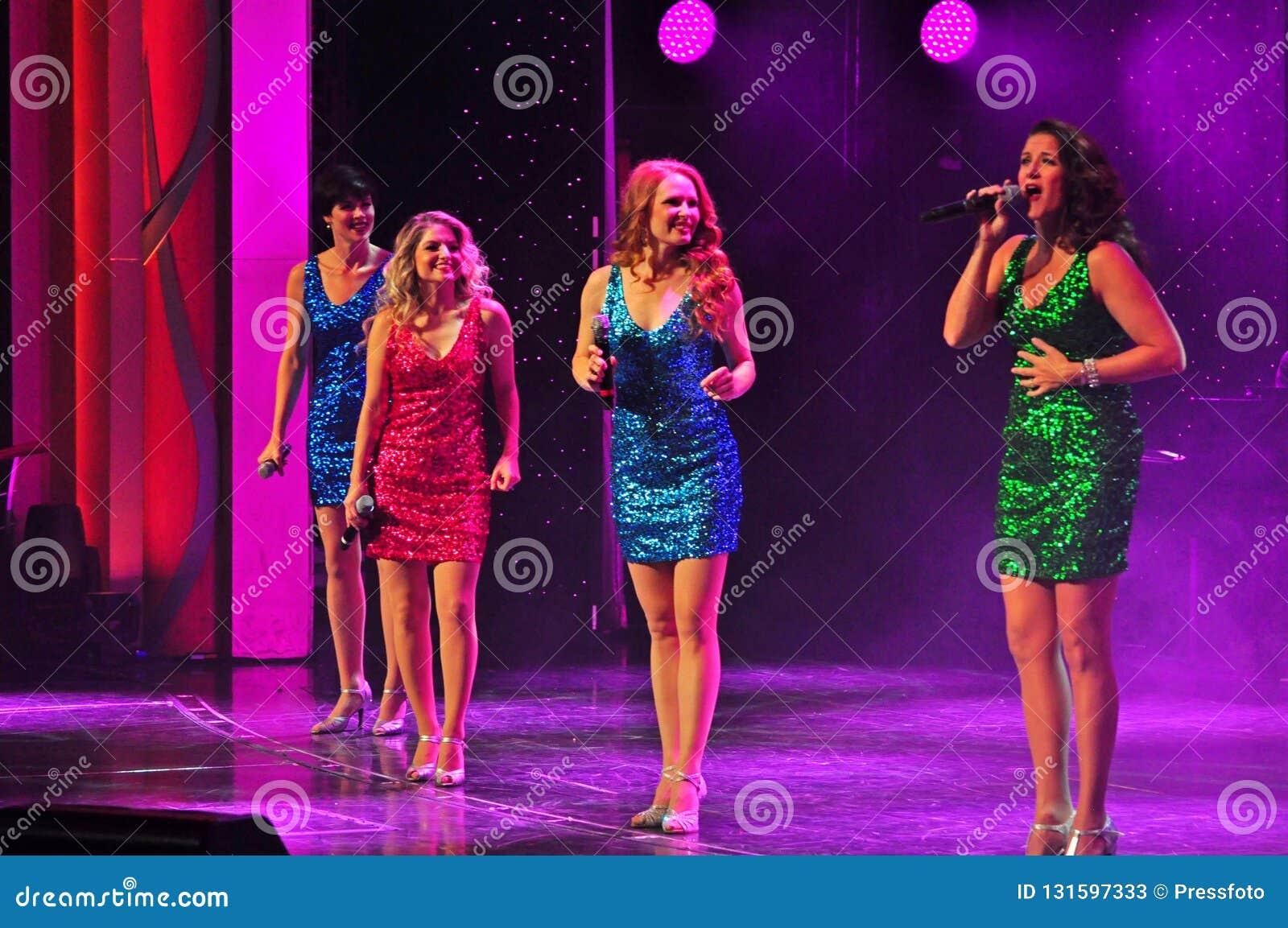 Żeńska wokalnie grupa