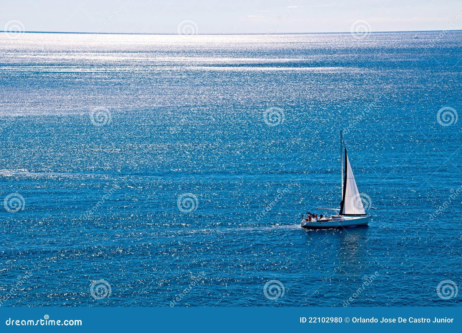 żeglowanie łódkowaty wiatr