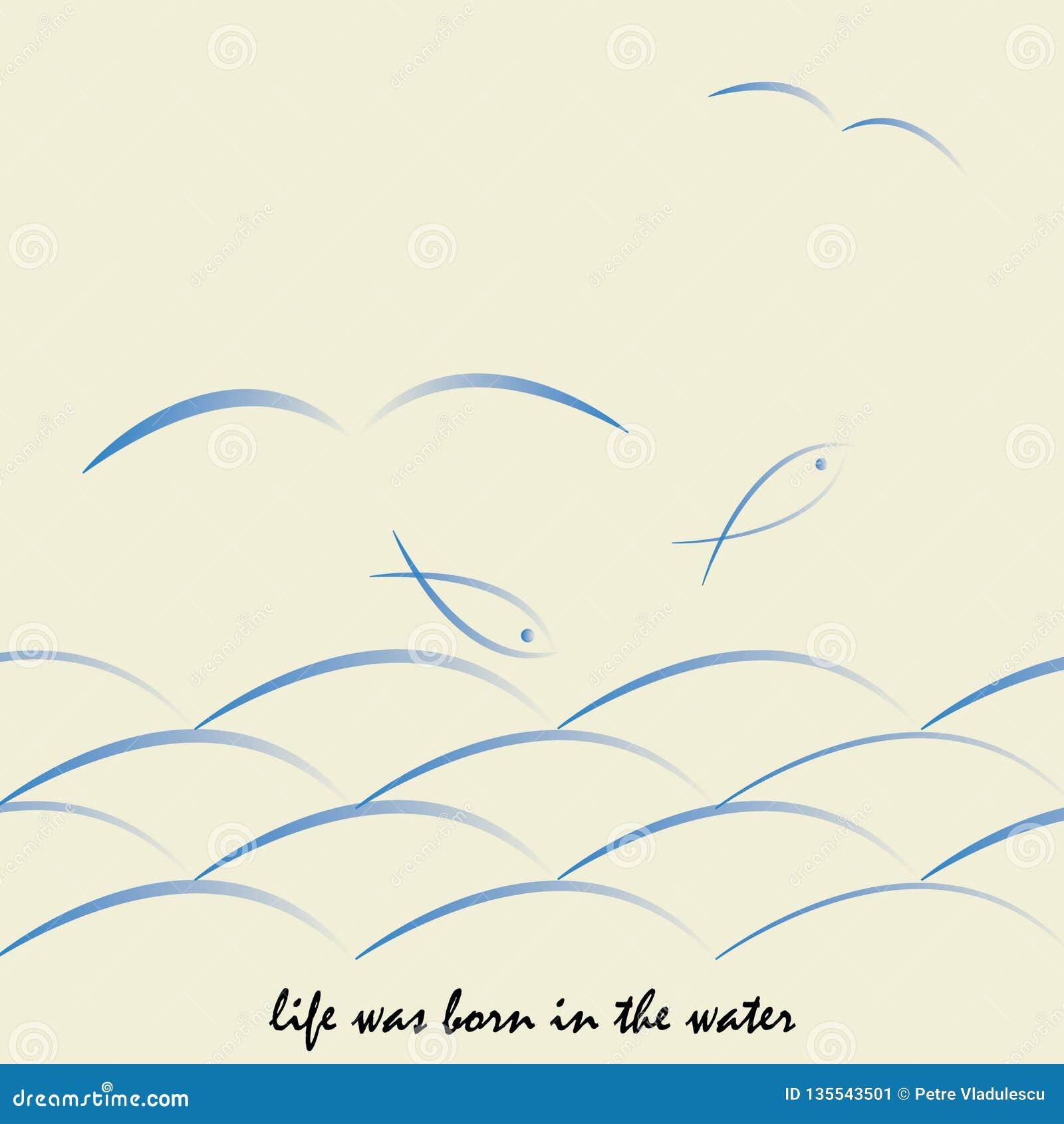Życie był urodzony w wodzie