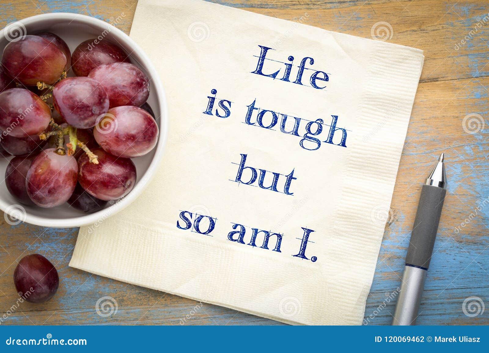 Życie jest twardy, w ten sposób jest Mną