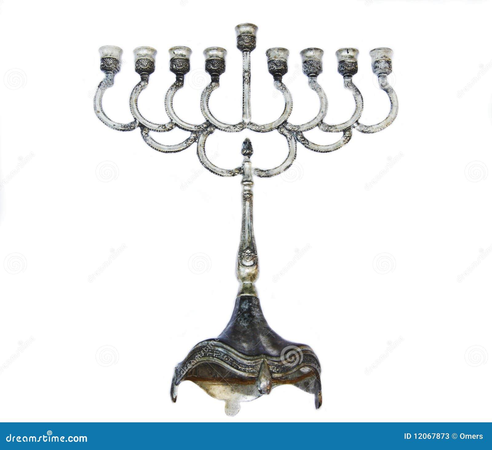 żydowski festiwalu menorah