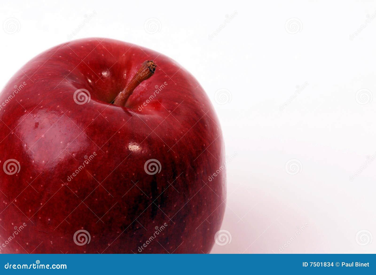 苹果背景白色