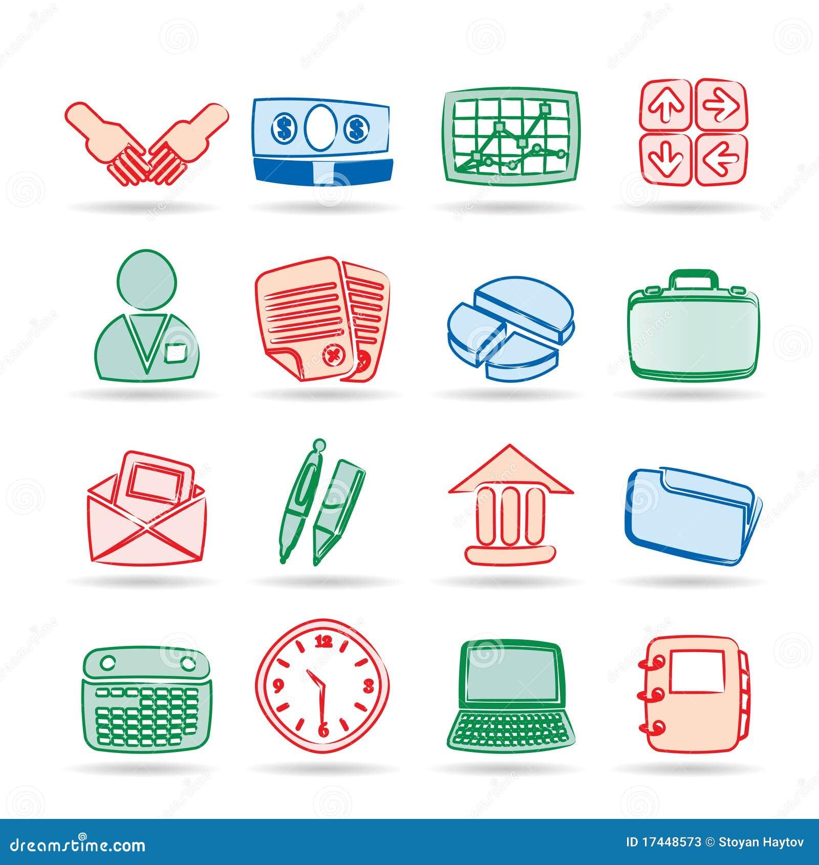 企业简单图标的办公室图片