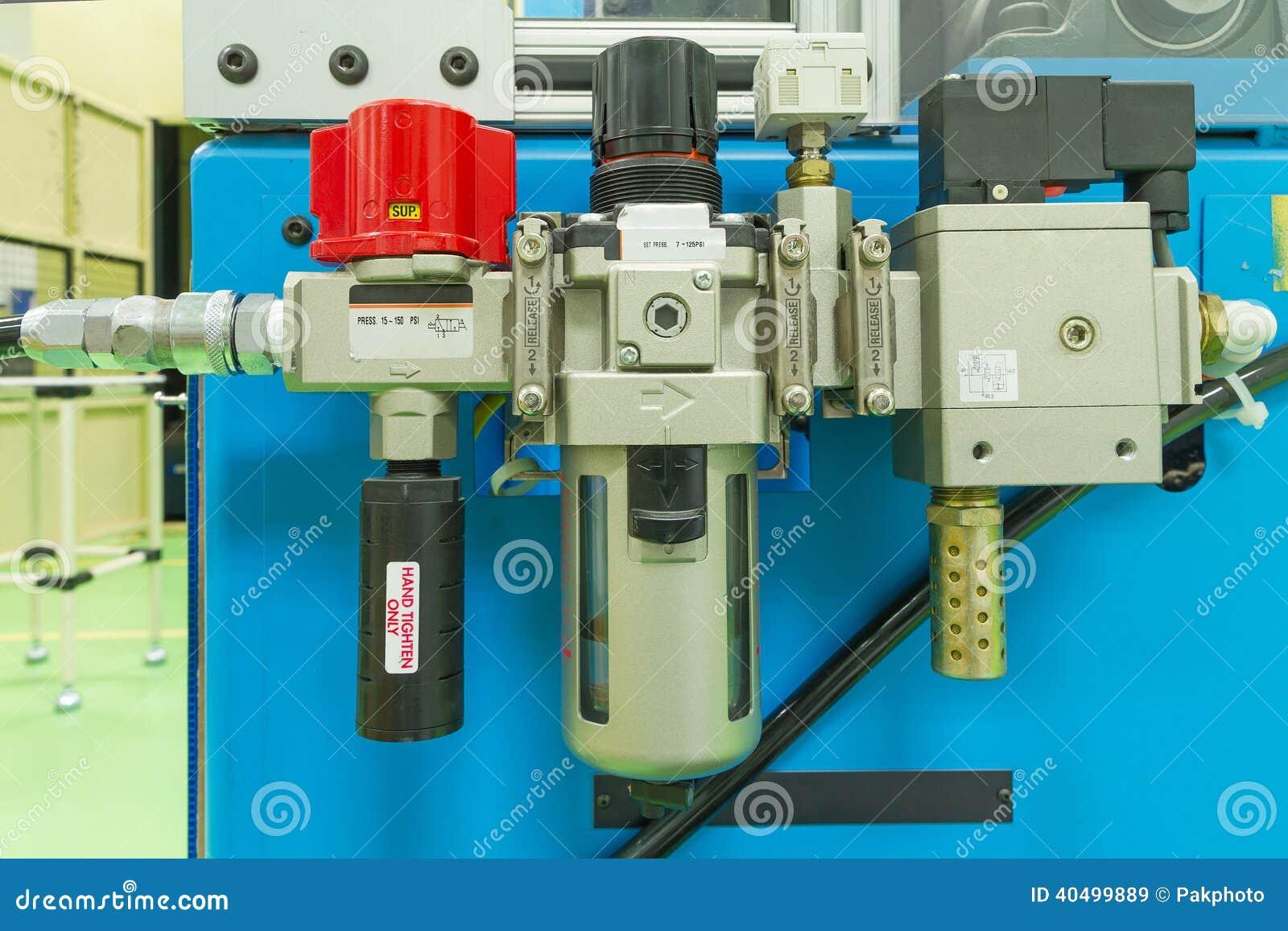 气压阀控制器 库存照片图片