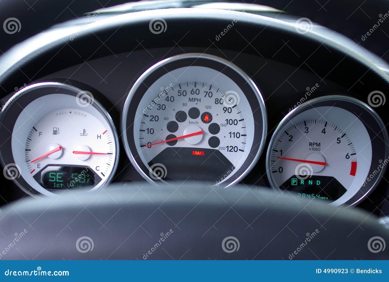 求最新最全汽车仪表盘图解高清图片