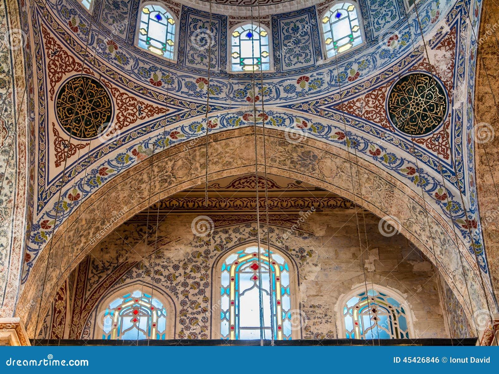 清真寺的建筑细节,伊斯坦布尔
