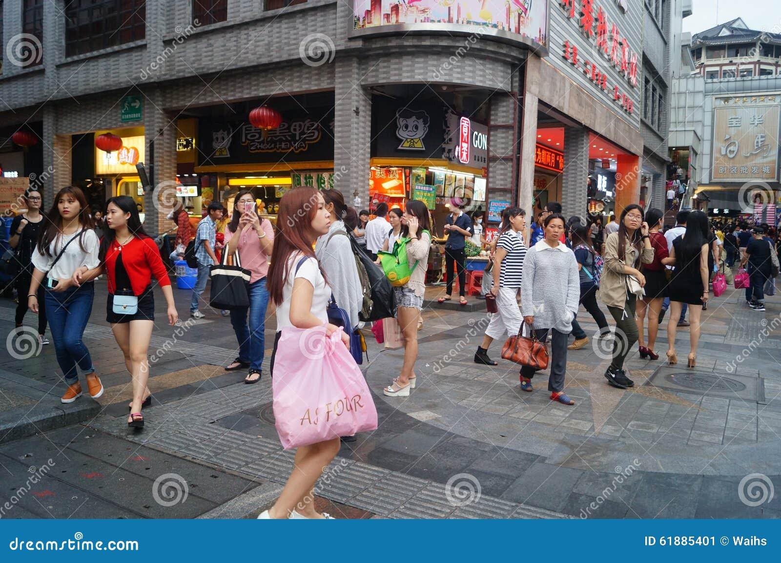 深圳dongmen街道风景