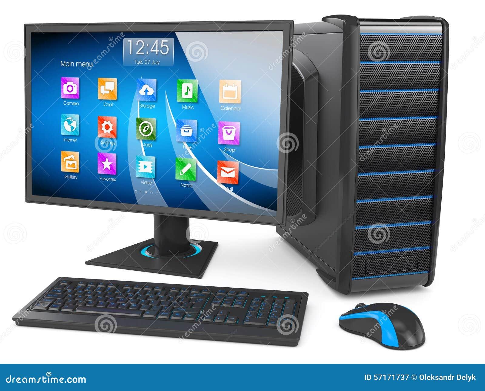 台式计算机图片