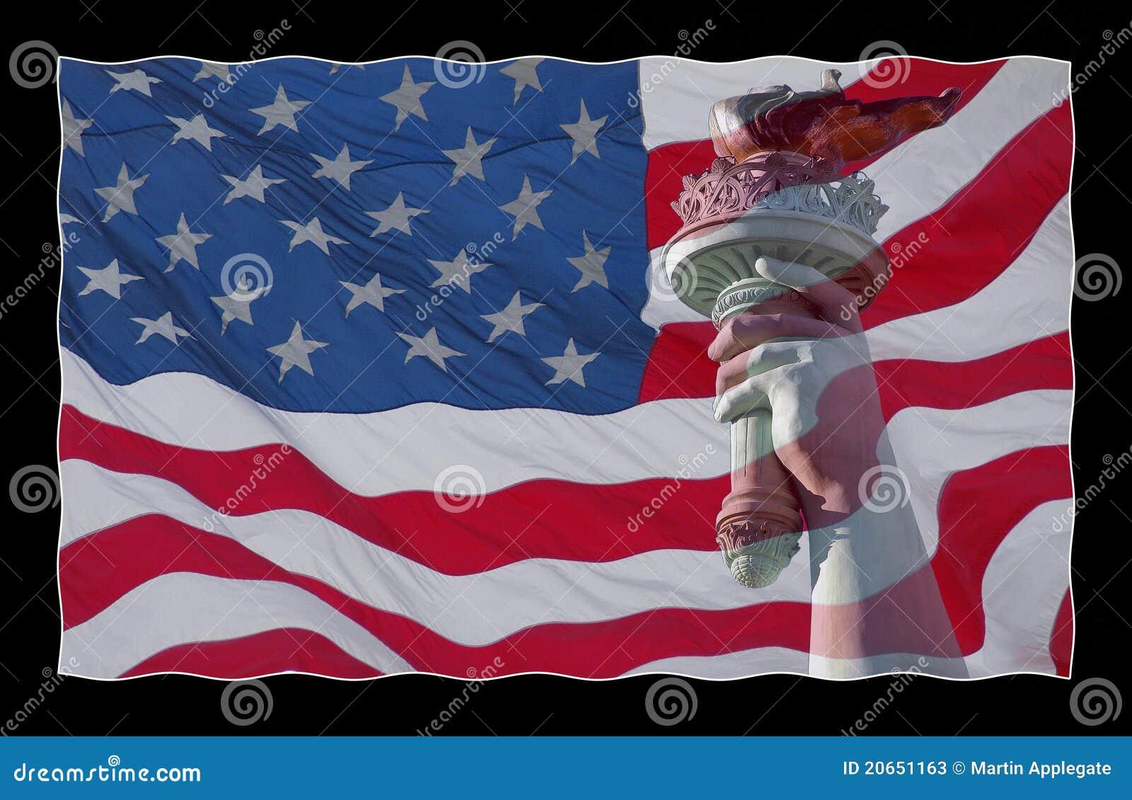 άγαλμα αμερικανικών σημα&iot