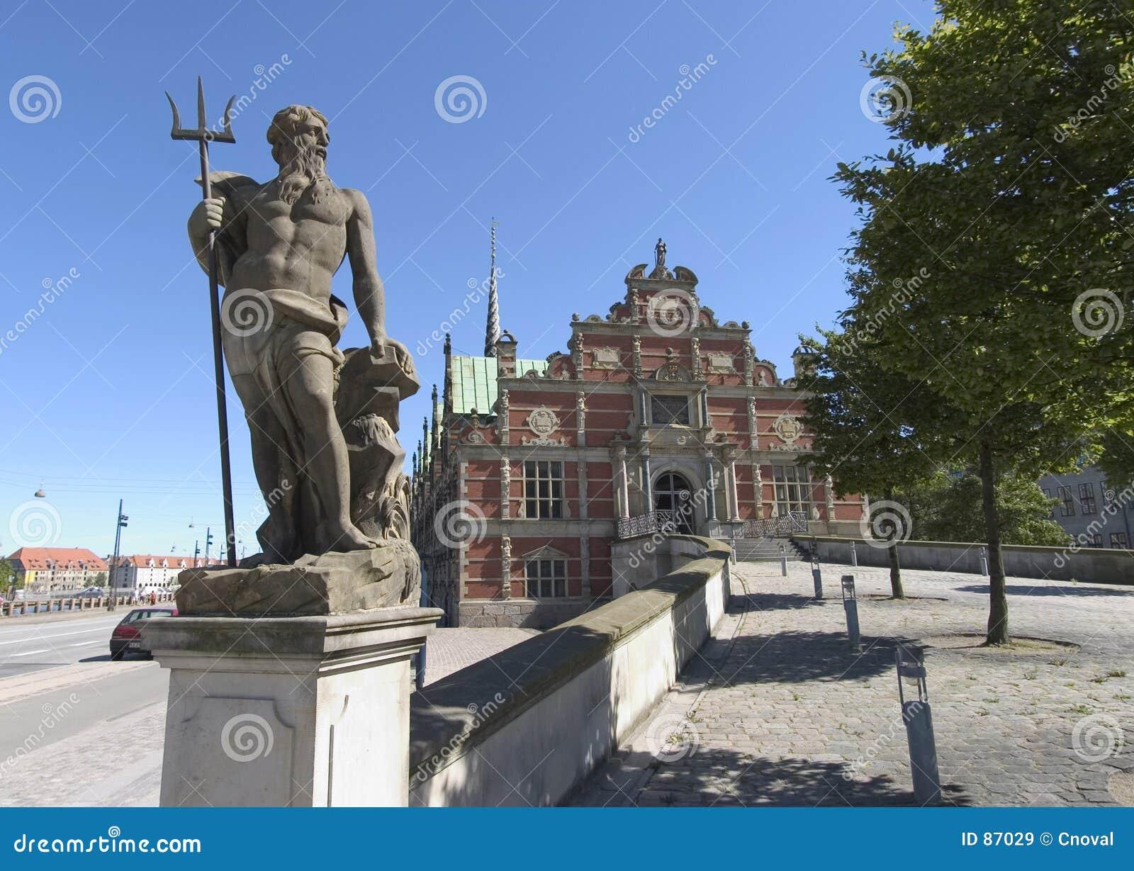 άγαλμα της Κοπεγχάγης Ποσειδώνας