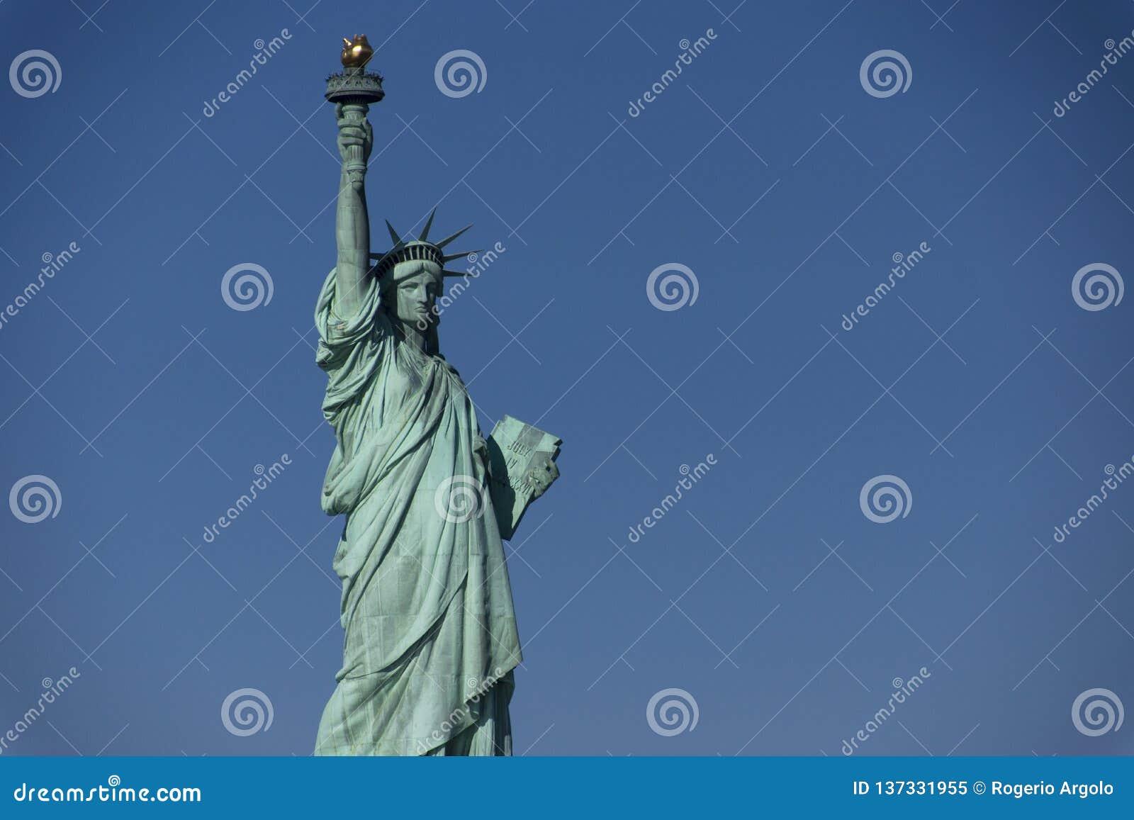 Άγαλμα της Νέας Υόρκης της ελευθερίας