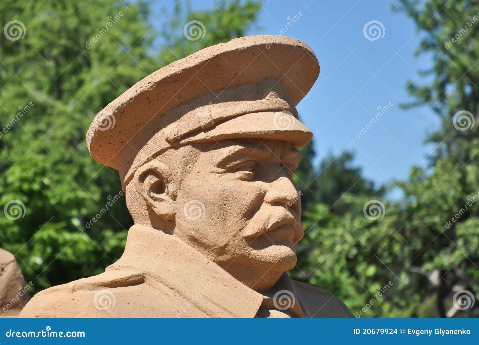 άγαλμα του Στάλιν