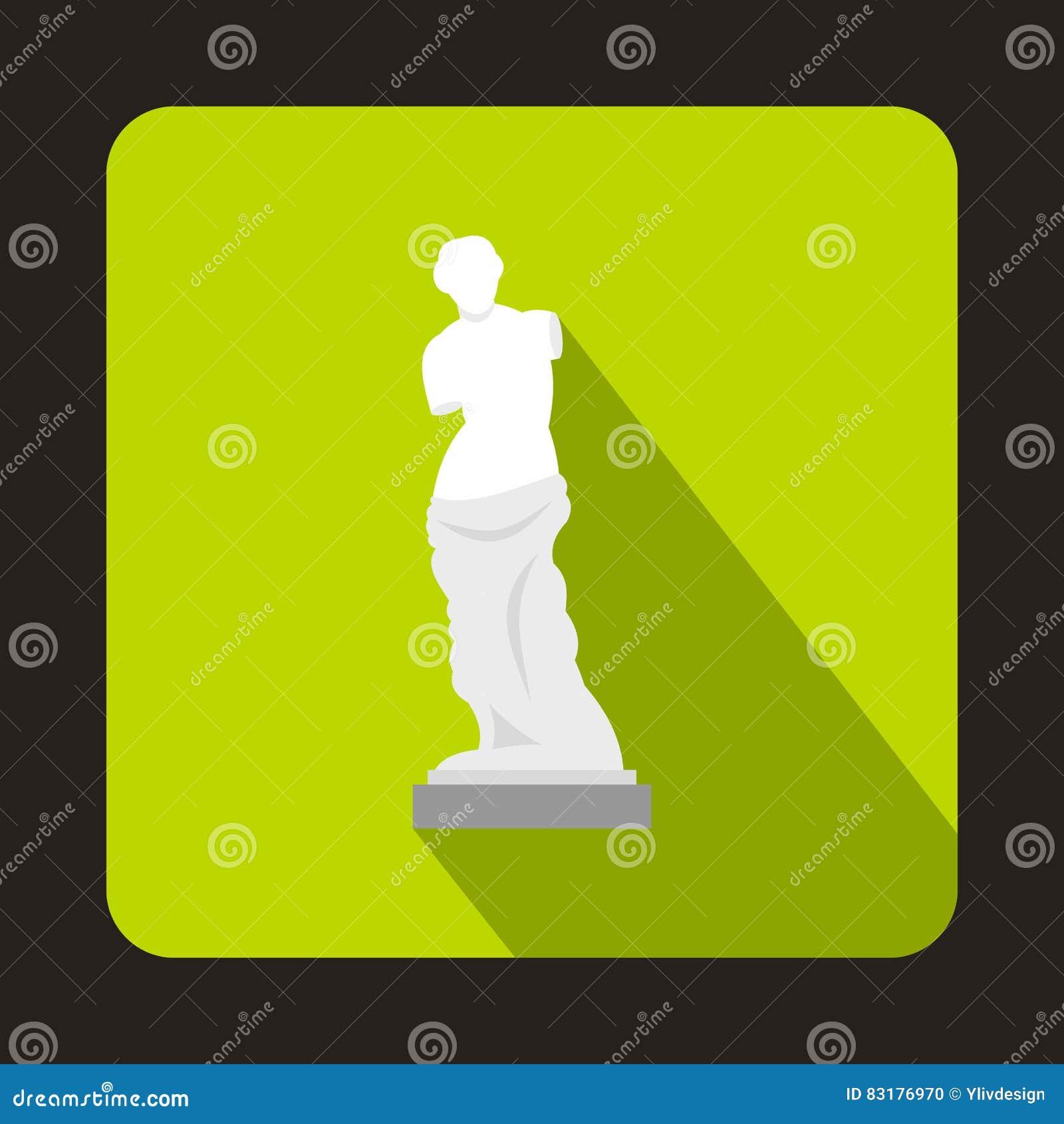 Άγαλμα του εικονιδίου της Αφροδίτης de Milo, επίπεδο ύφος