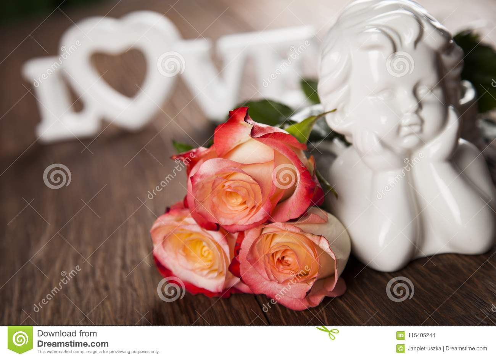 Άγγελος, ημέρα του ευτυχούς βαλεντίνου, υπόβαθρο καθρεφτών