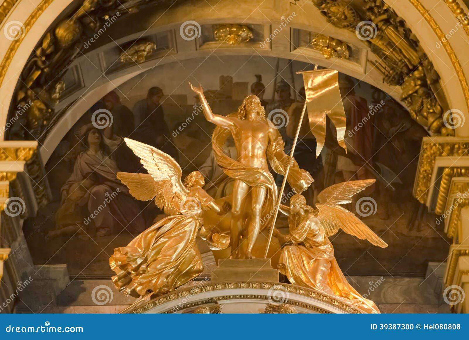 Άγγελοι στο Isaac Cathedral, Αγία Πετρούπολη