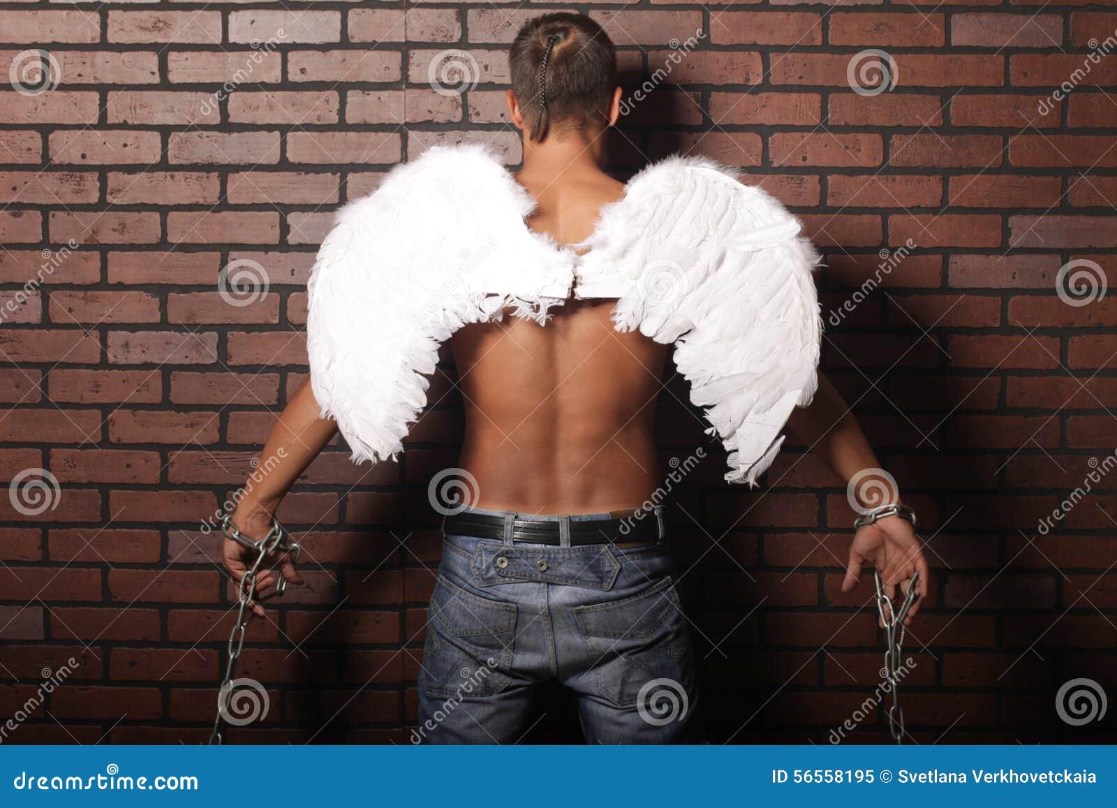 Download Άγγελος ατόμων στοκ εικόνα. εικόνα από μαύρα, ισχύς, μέταλλο - 56558195