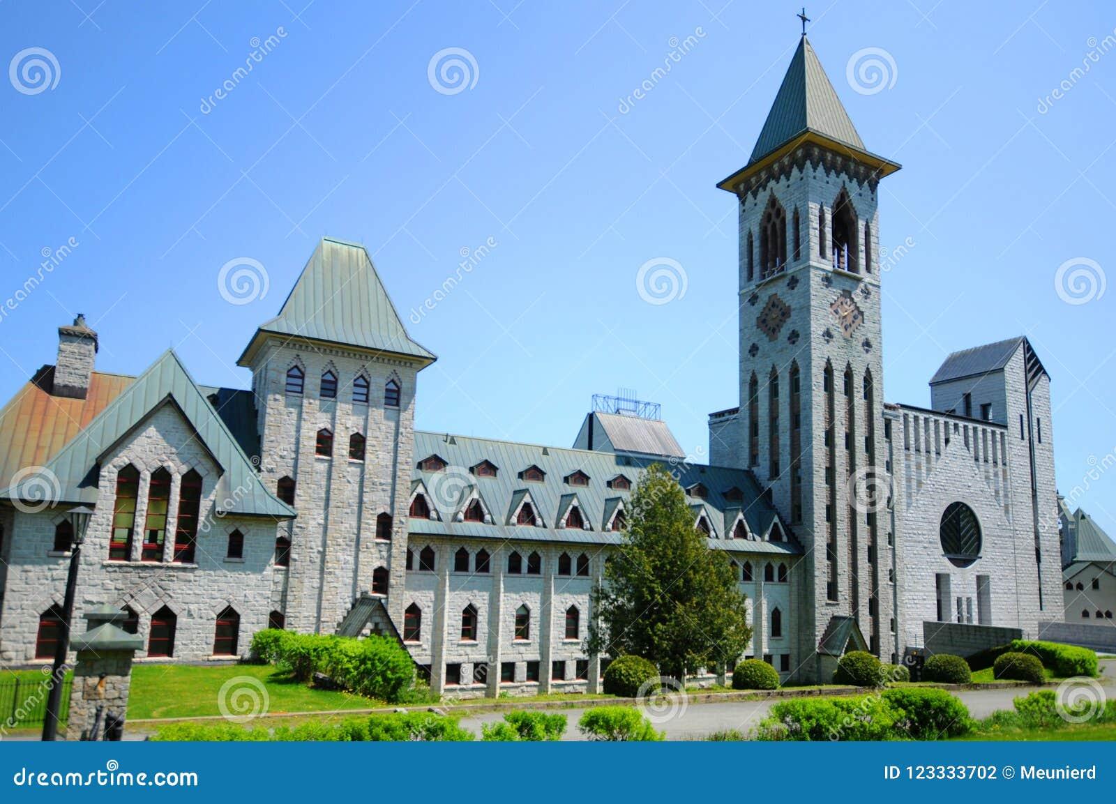 Άγιος Benedict Abbey στην Άγιος-Benoit-du-Lacoit-du-λάκκα
