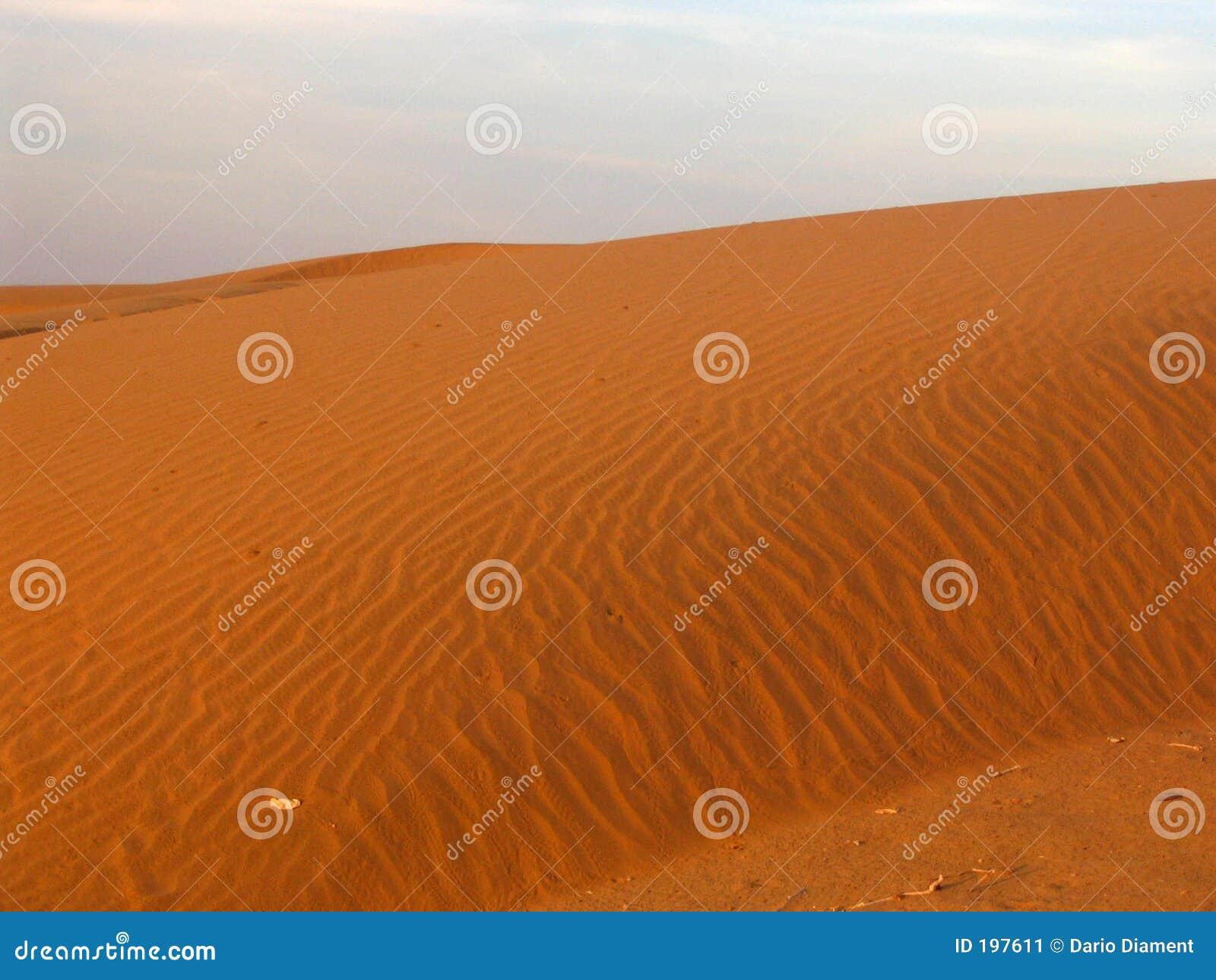 άμμος αμμόλοφων ερήμων