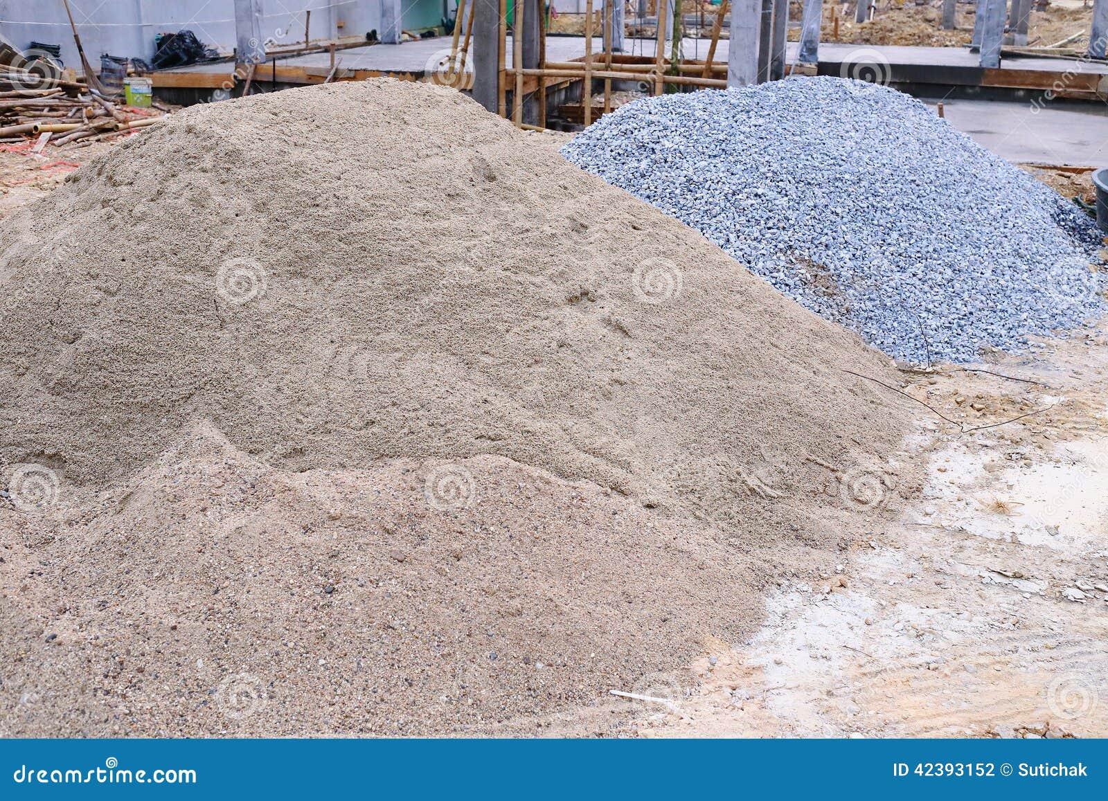 Άμμος και αμμοχάλικο σωρών