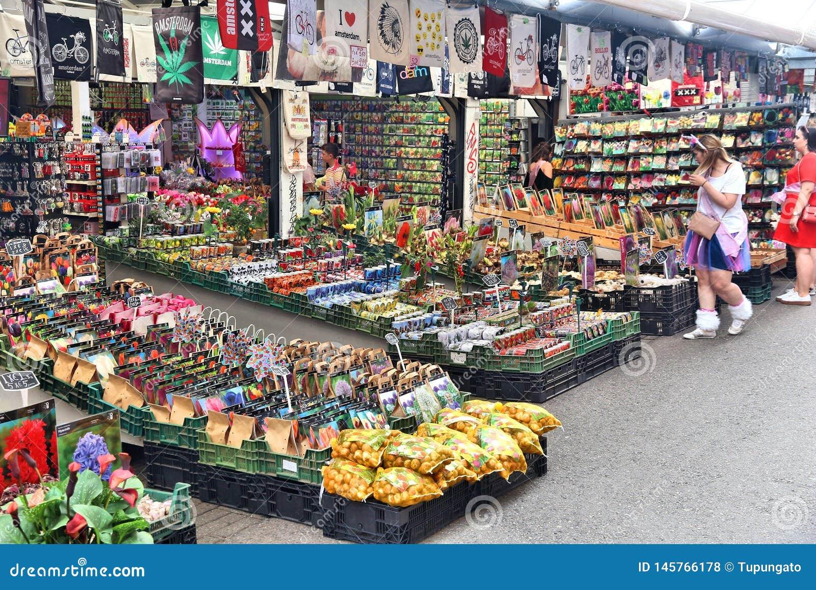 Άμστερνταμ Bloemenmarkt