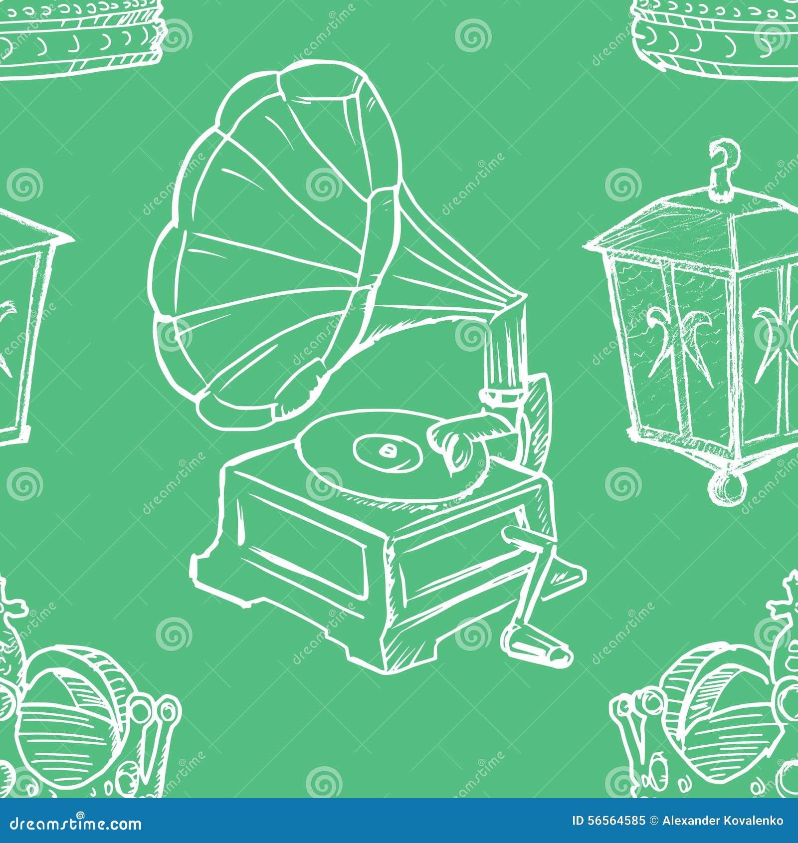 Download Άνευ ραφής ανασκόπηση απεικόνιση αποθεμάτων. εικονογραφία από ύφος - 56564585