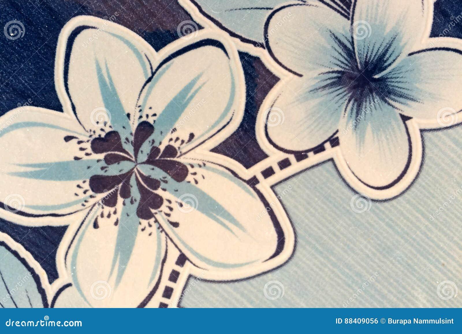 Άνευ ραφής αφηρημένο λουλούδι