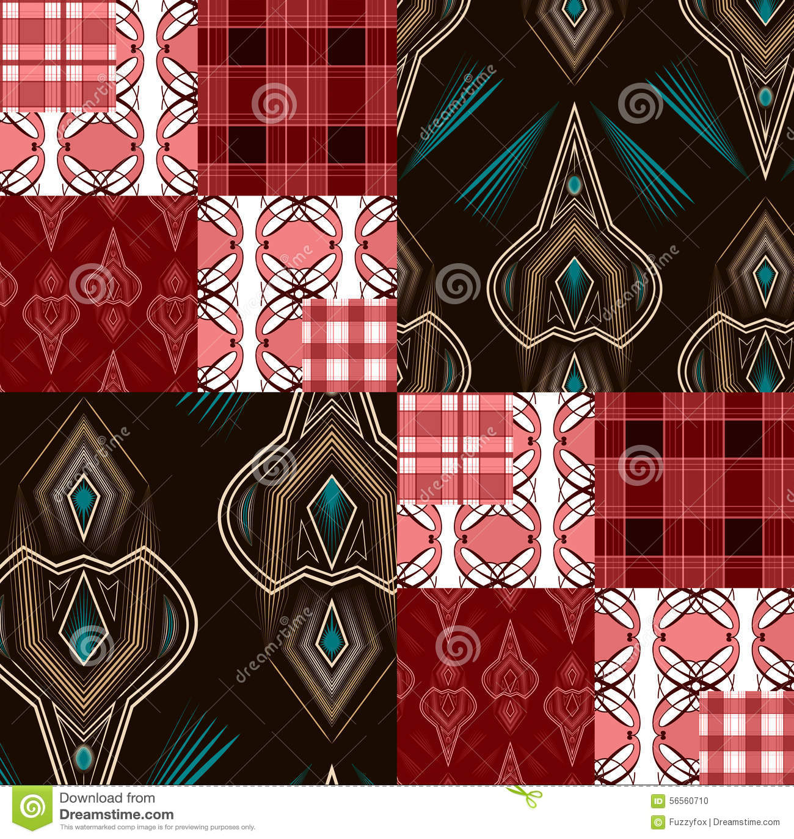Download Άνευ ραφής γεωμετρική περίληψη υποβάθρου σχεδίων τριγώνων φωτεινή Απεικόνιση αποθεμάτων - εικονογραφία από πρότυπο, κάλυψη: 56560710