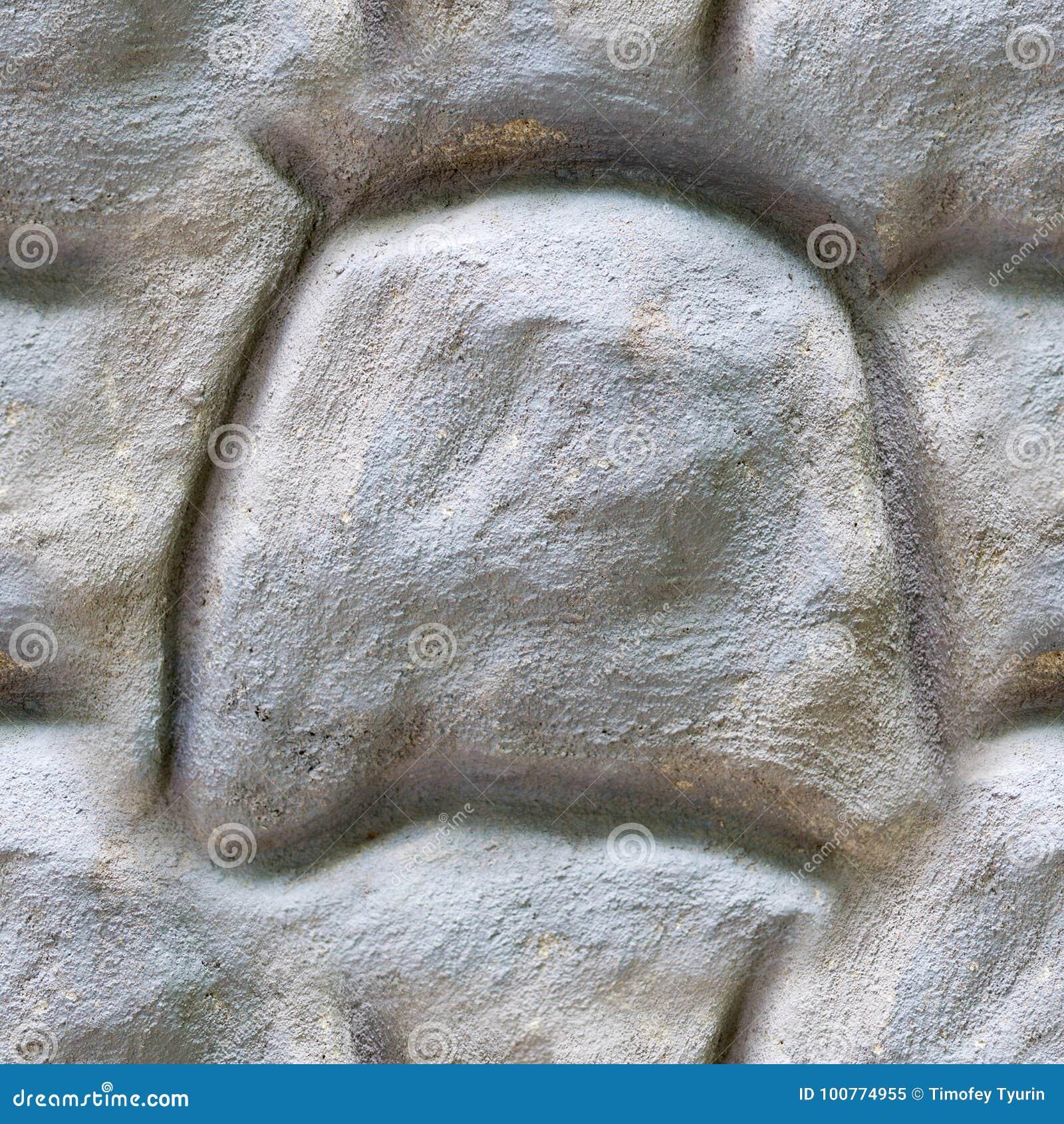 Άνευ ραφής γκρίζα σύσταση συμπαγών τοίχων πετρών Υπόβαθρο