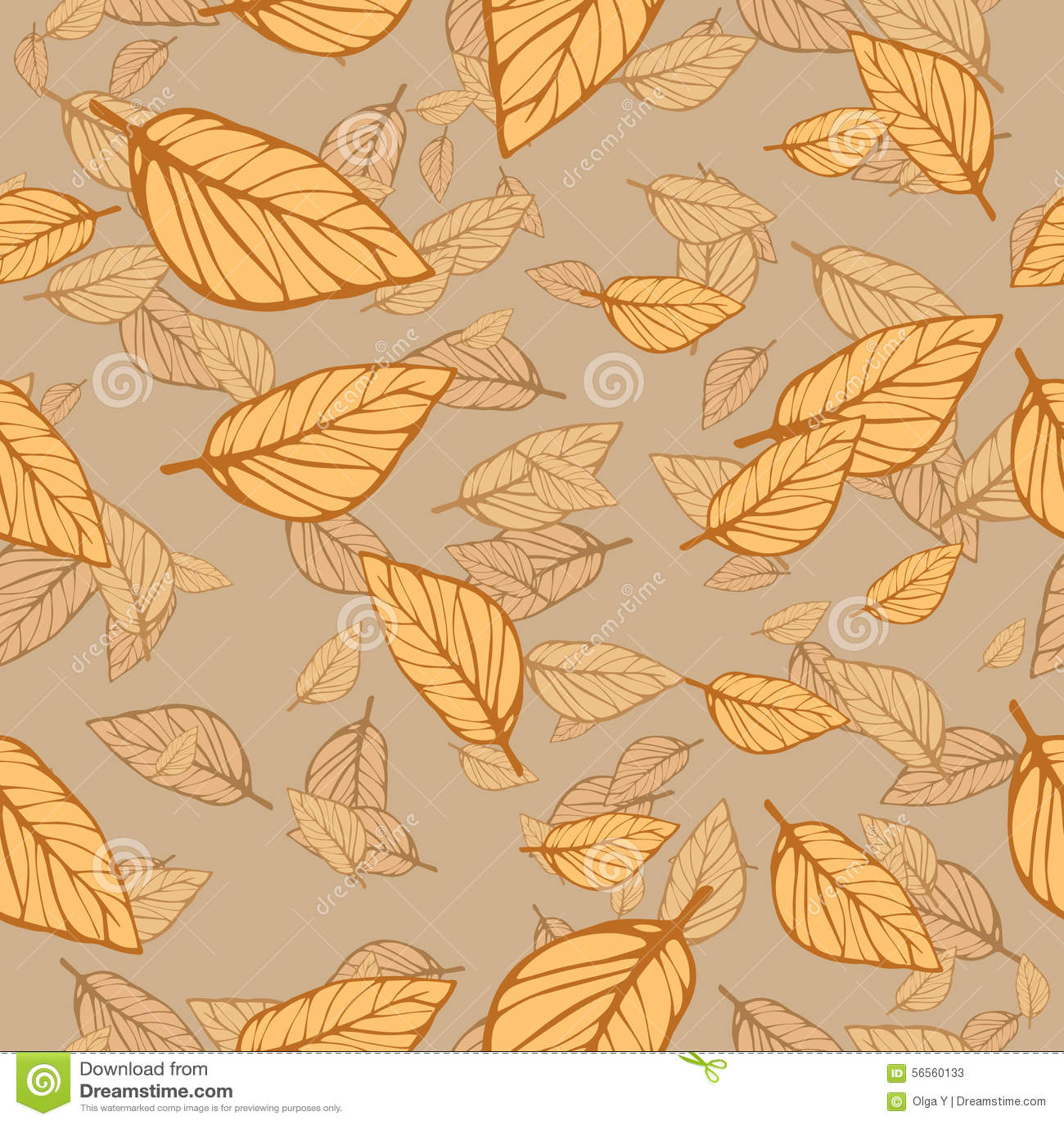 Download Άνευ ραφής διανυσματική φυλλώδης σύσταση Διανυσματική απεικόνιση - εικονογραφία από ανασκόπησης, floral: 56560133