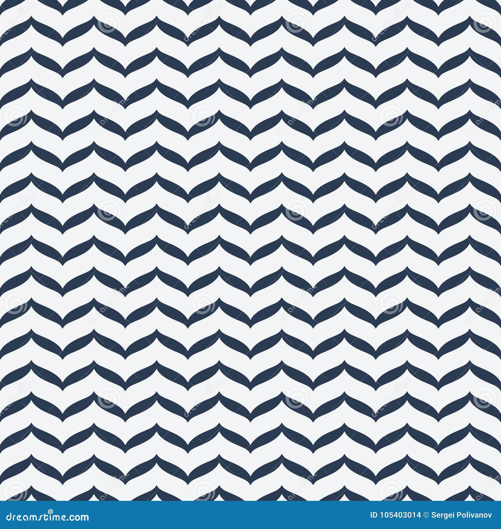 Download άνευ ραφής κύματα προτύπων διανυσματική απεικόνιση. εικονογραφία από δημιουργικός - 105403014