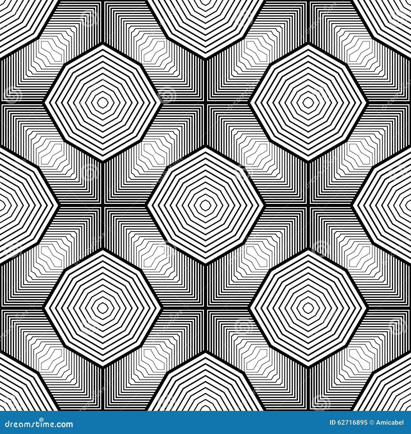 Άνευ ραφής μονοχρωματικό γεωμετρικό σχέδιο σχεδίου
