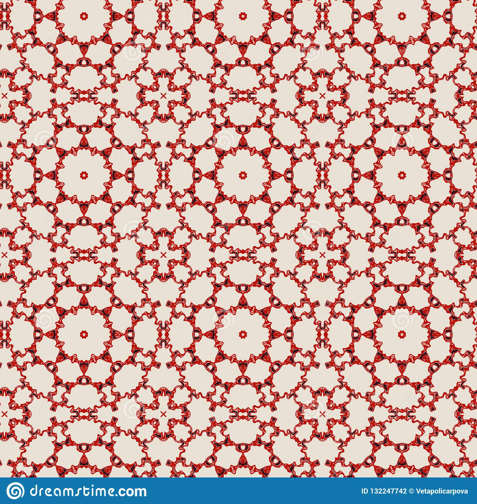 Άνευ ραφής σχέδιο δαντελλών χρώματος Με τις λεπτές διάφορες γραμμές