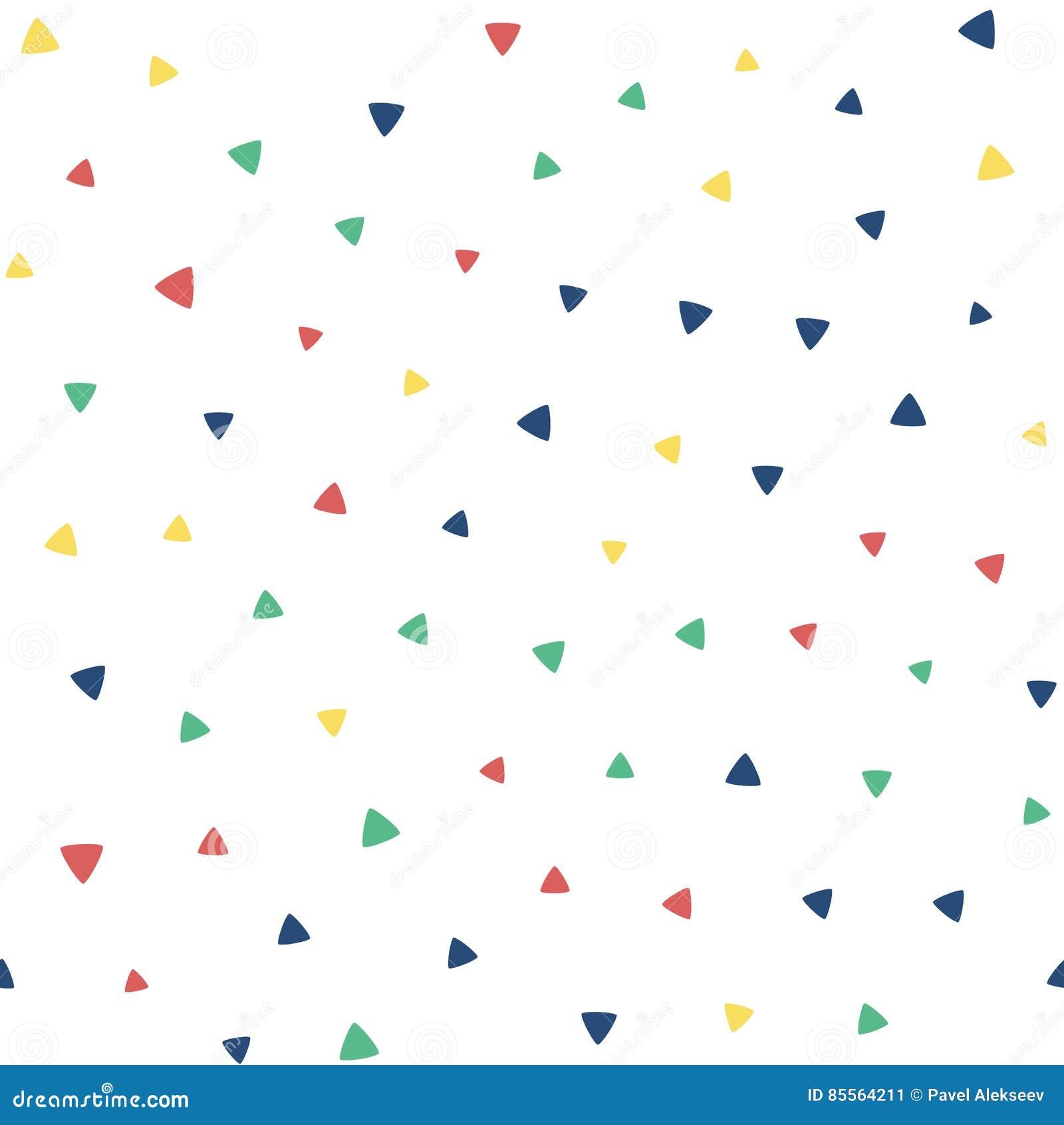 Άνευ ραφής σχέδιο με τα μικρά τρίγωνα