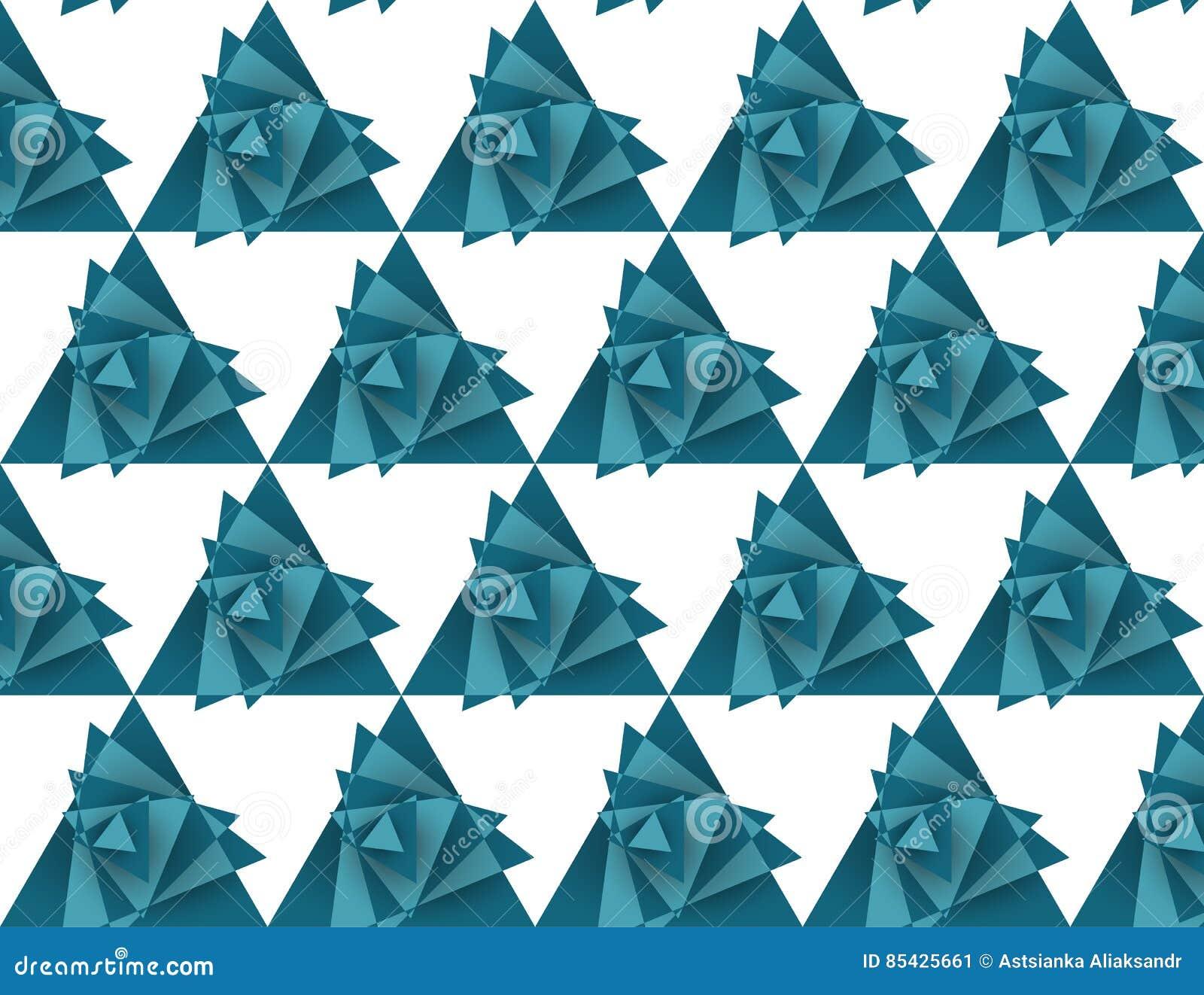 Άνευ ραφής σχέδιο τριγώνων, ανεμοστρόβιλος