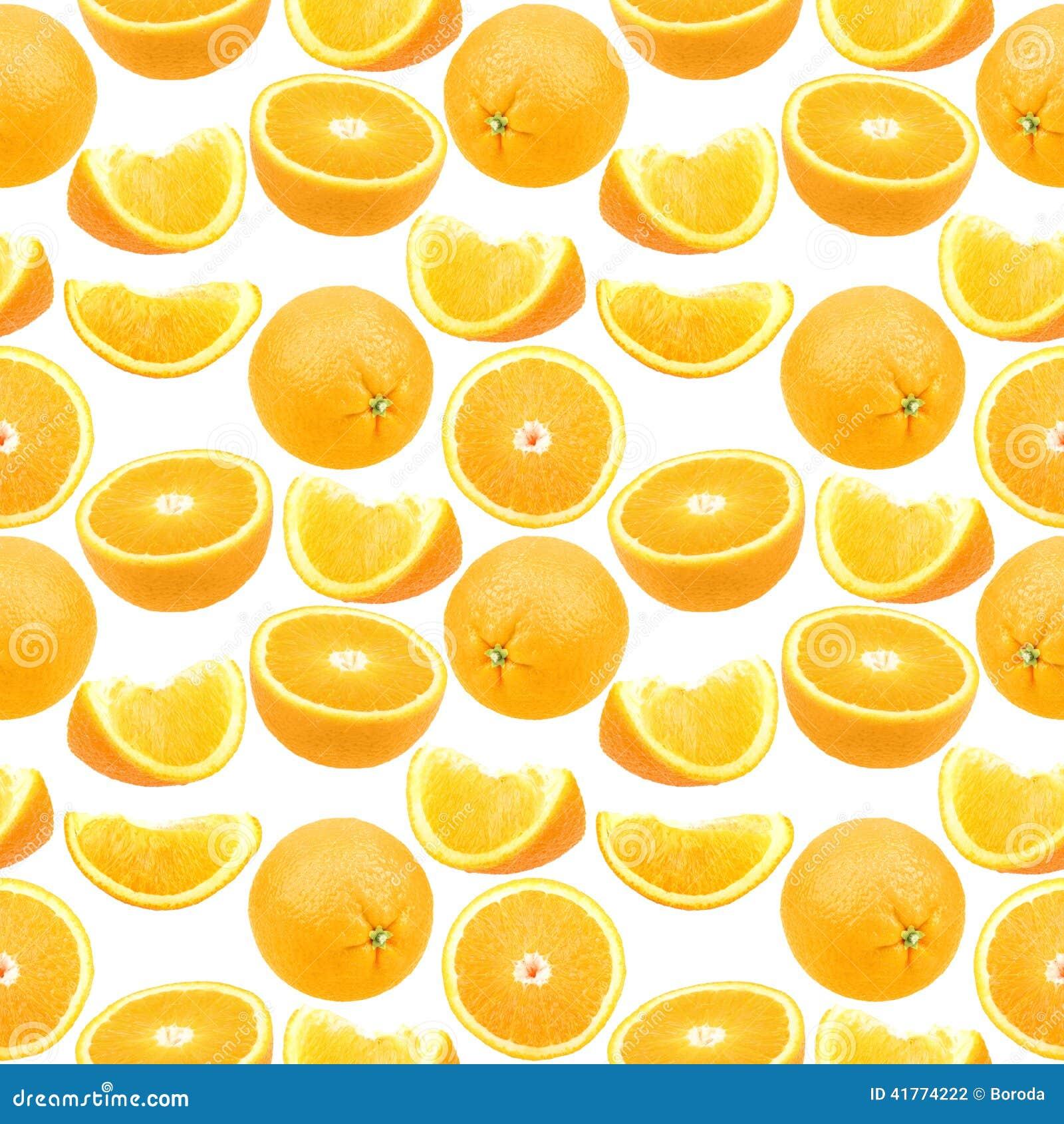 Άνευ ραφής σχέδιο των πορτοκαλιών