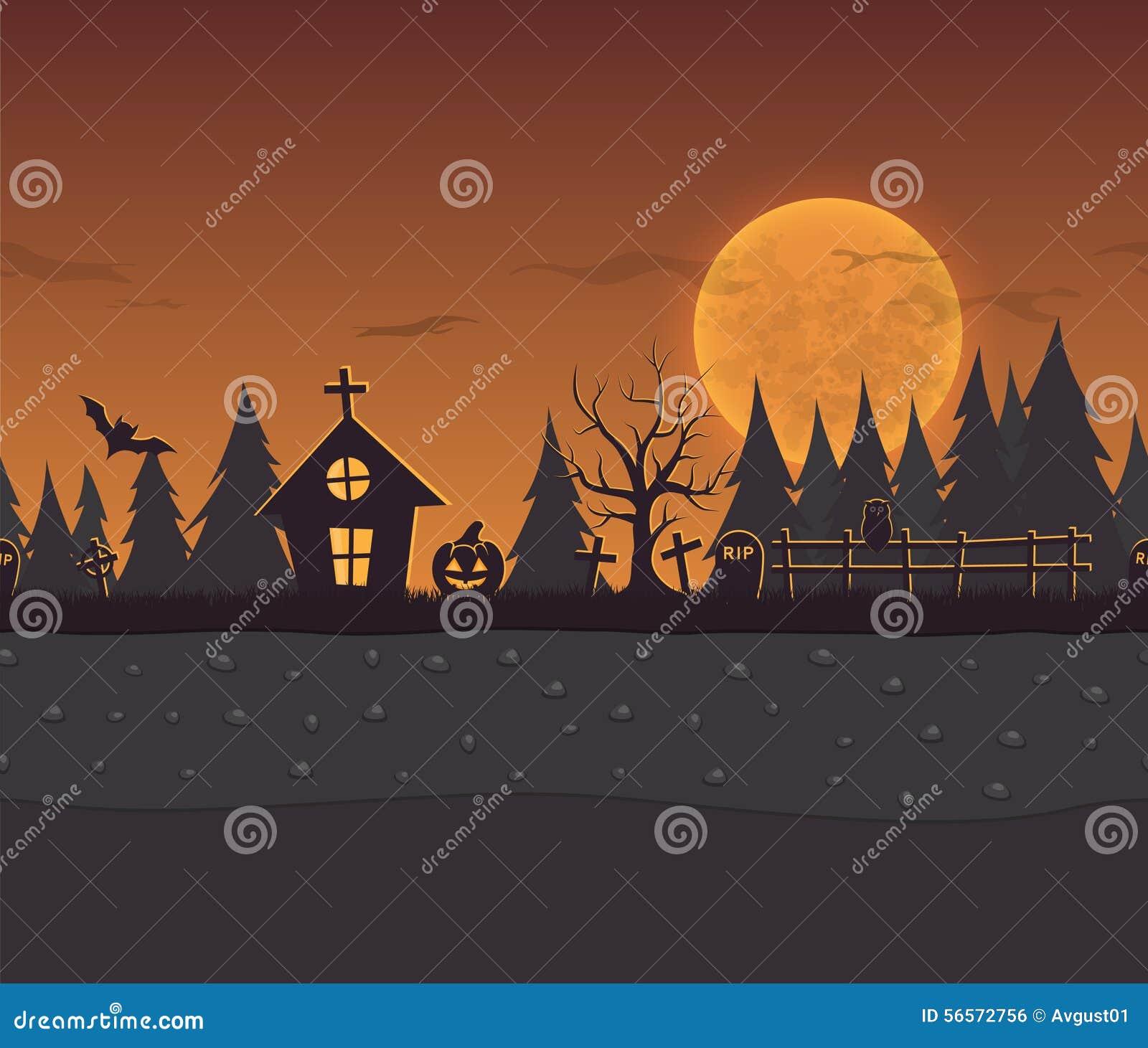 Download Άνευ ραφής υπόβαθρο κινούμενων σχεδίων επανάληψης για αποκριές Διανυσματική απεικόνιση - εικονογραφία από δάσος, στρώμα: 56572756