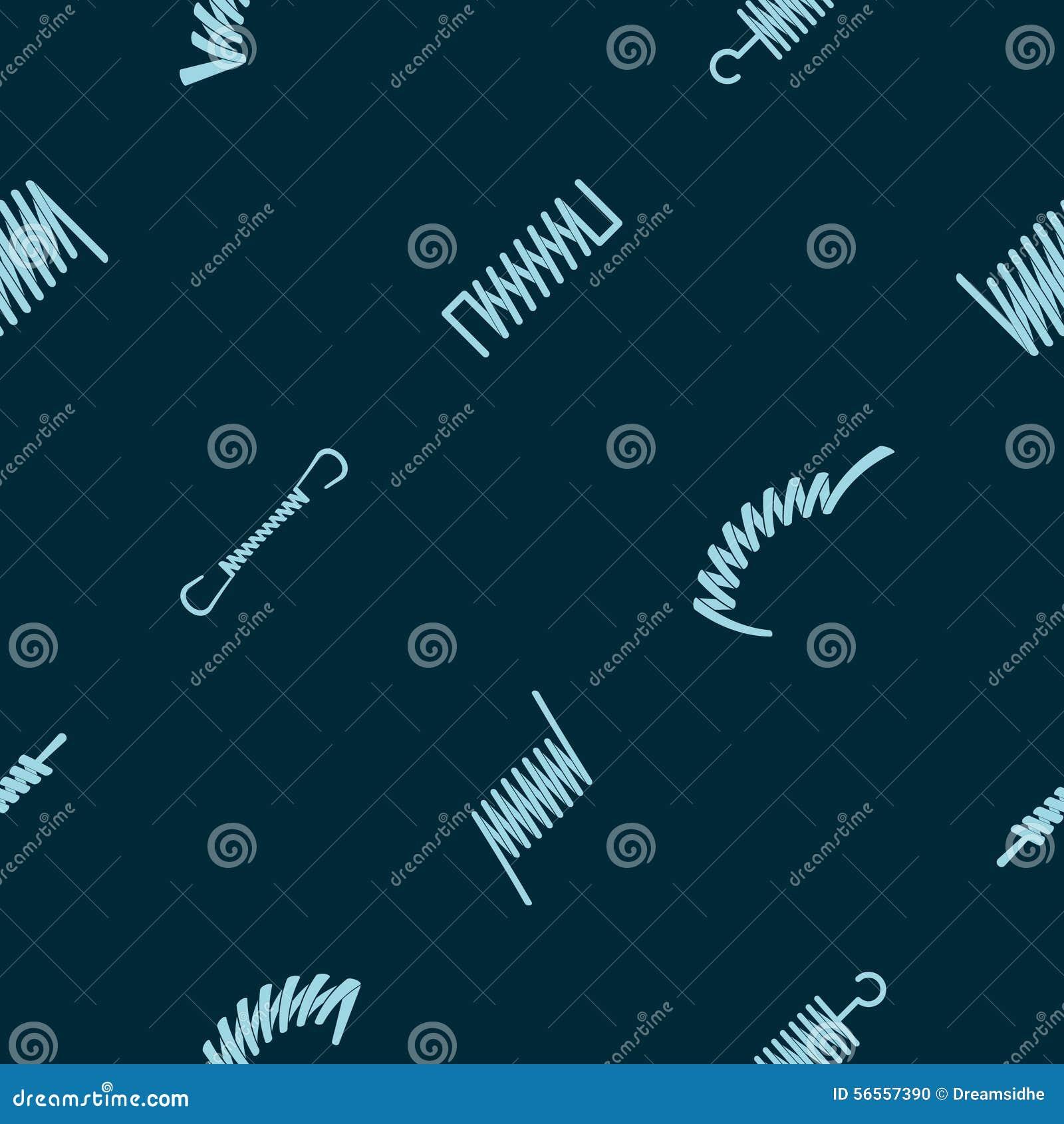Download Άνευ ραφής υπόβαθρο με τις ανοίξεις Διανυσματική απεικόνιση - εικονογραφία από λαμπρός, πίεση: 56557390